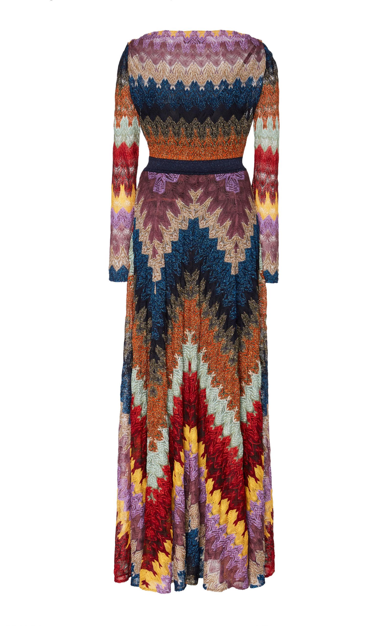 Missoni Dresses Crochet-Knit Maxi Dress