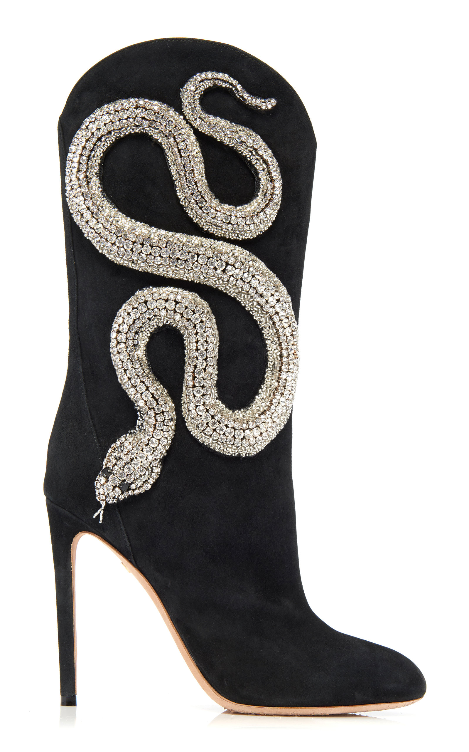 outlet store 3d649 c2407 Crystal Snake Boots