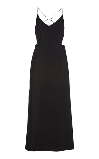 Christopher Esber WIRE PIQUE MAXI DRESS