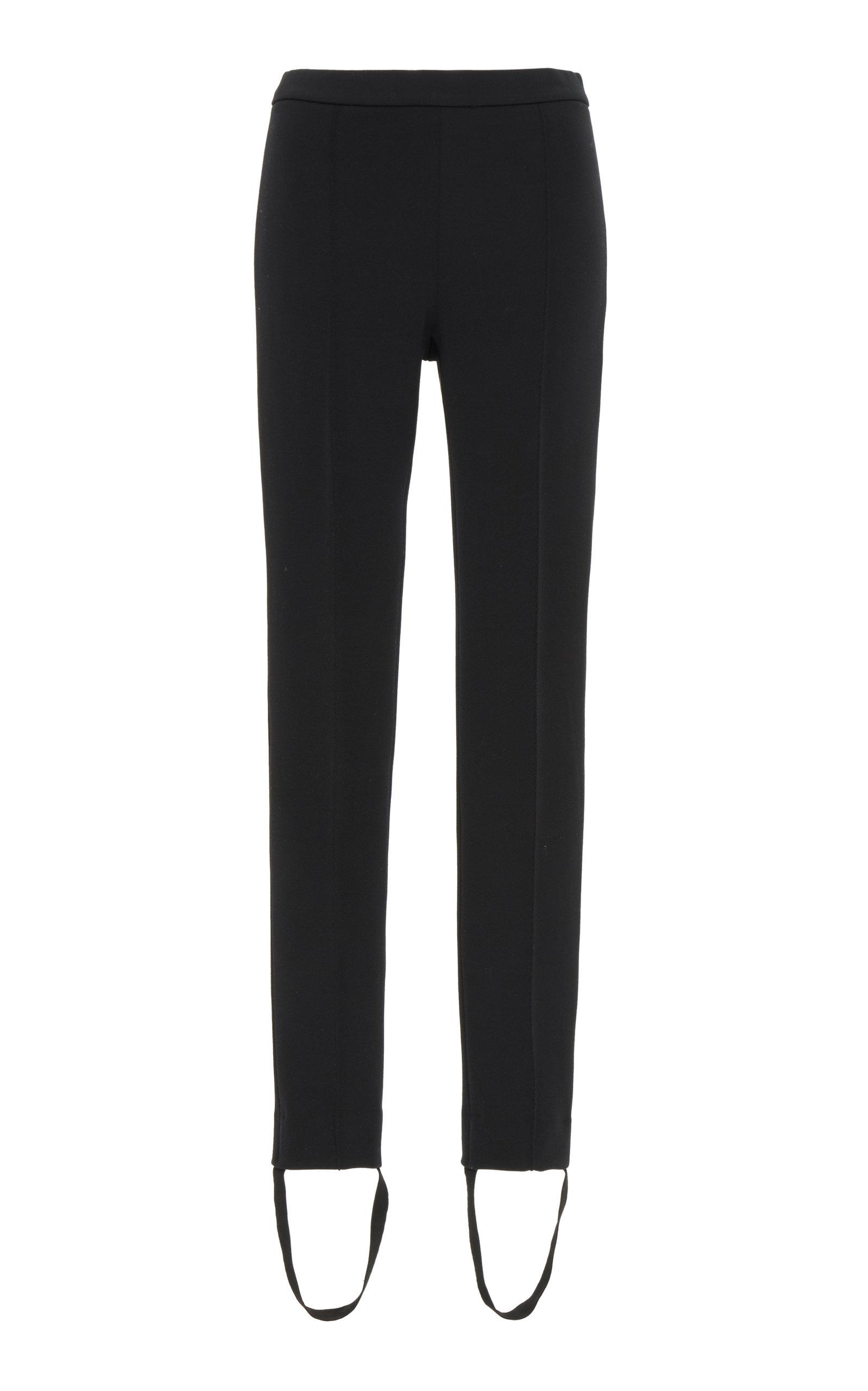 Givenchy Pants Stretch-Twill Stirrup Pants