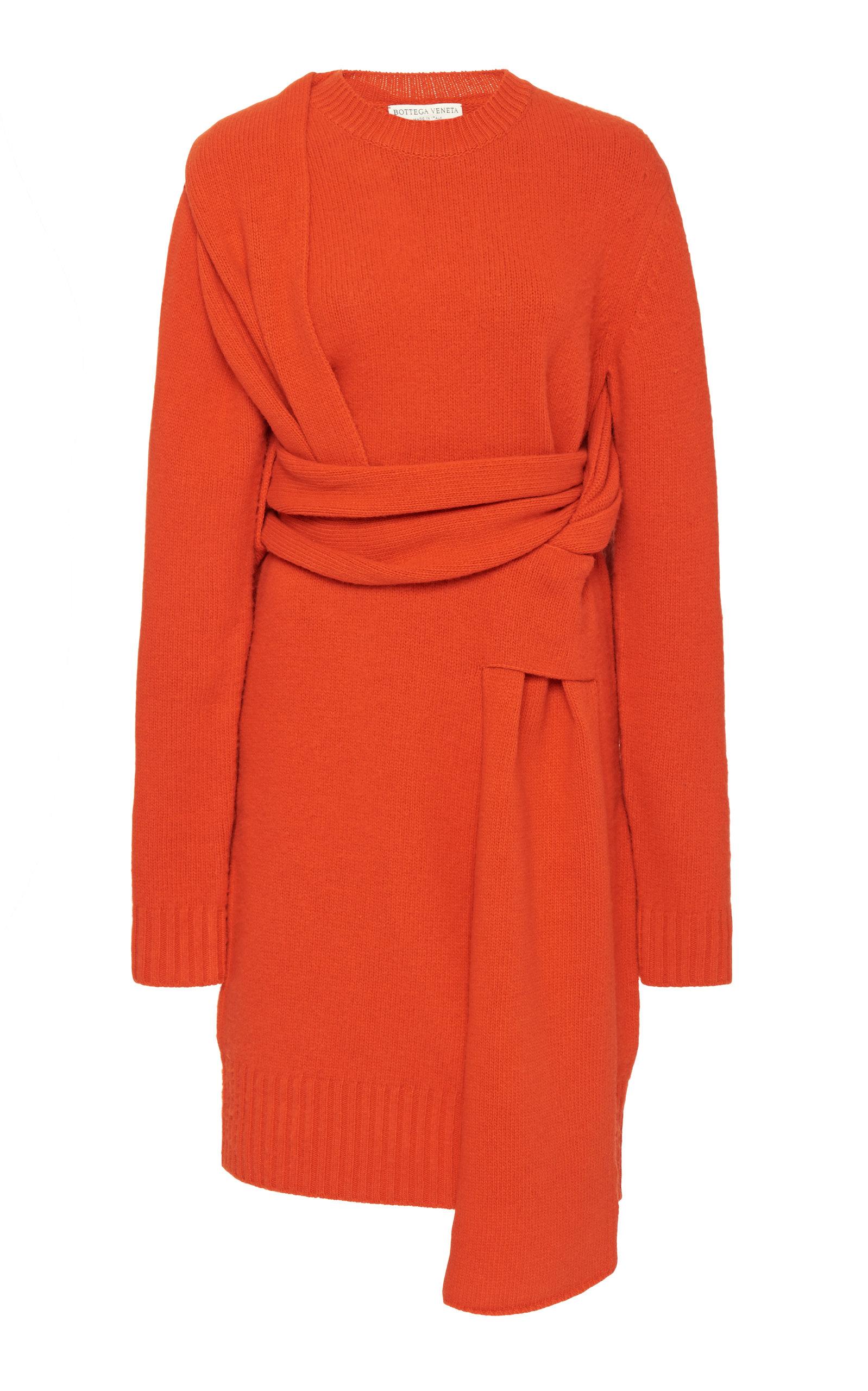 Bottega Veneta Dress Knot-Detailed Wool Sweater