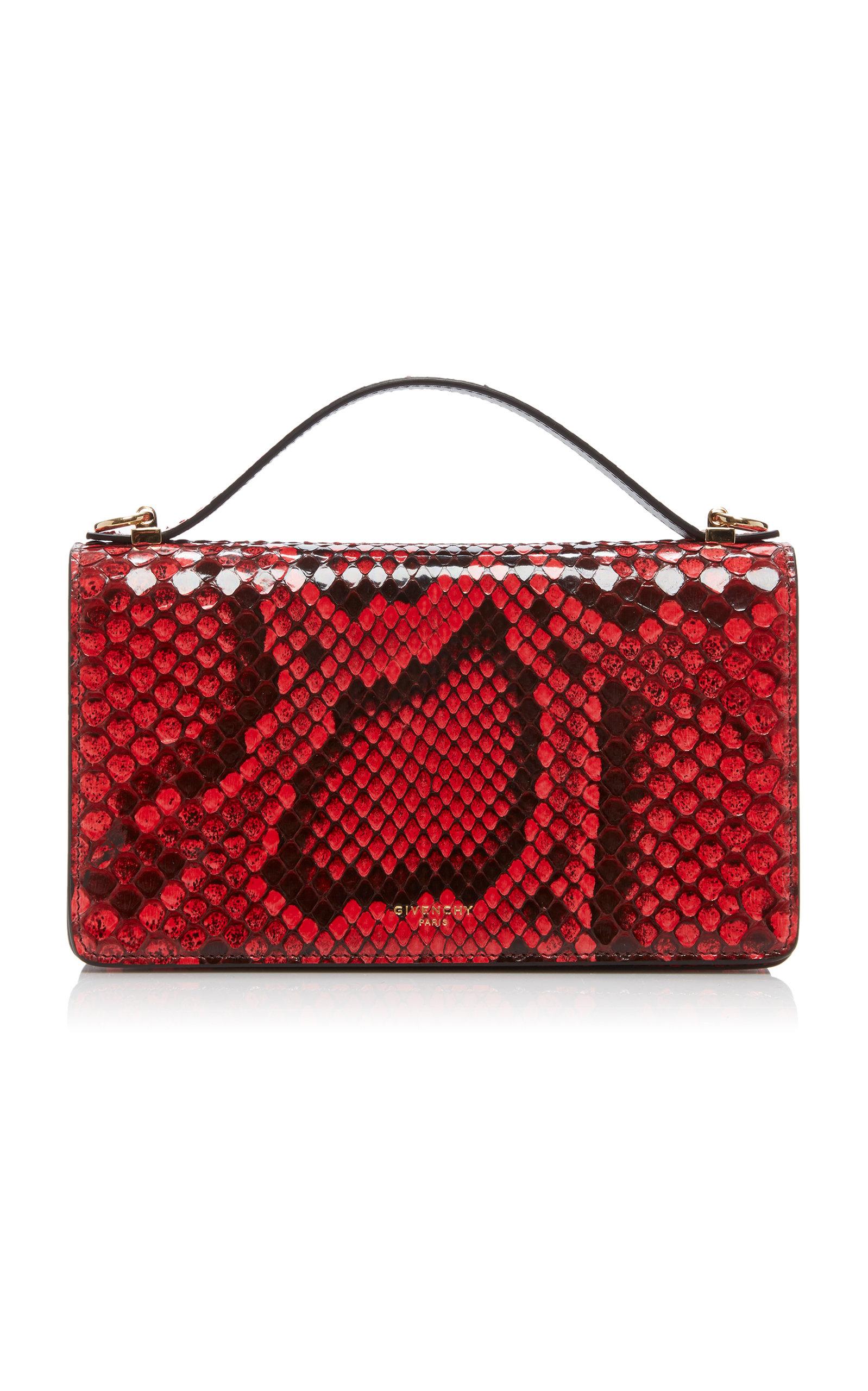Givenchy Wallets GV3 Python Wallet