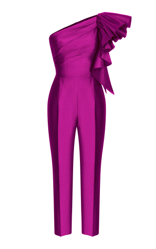 fe7738a7299 Pussy Bow Jumpsuit by Elie Saab
