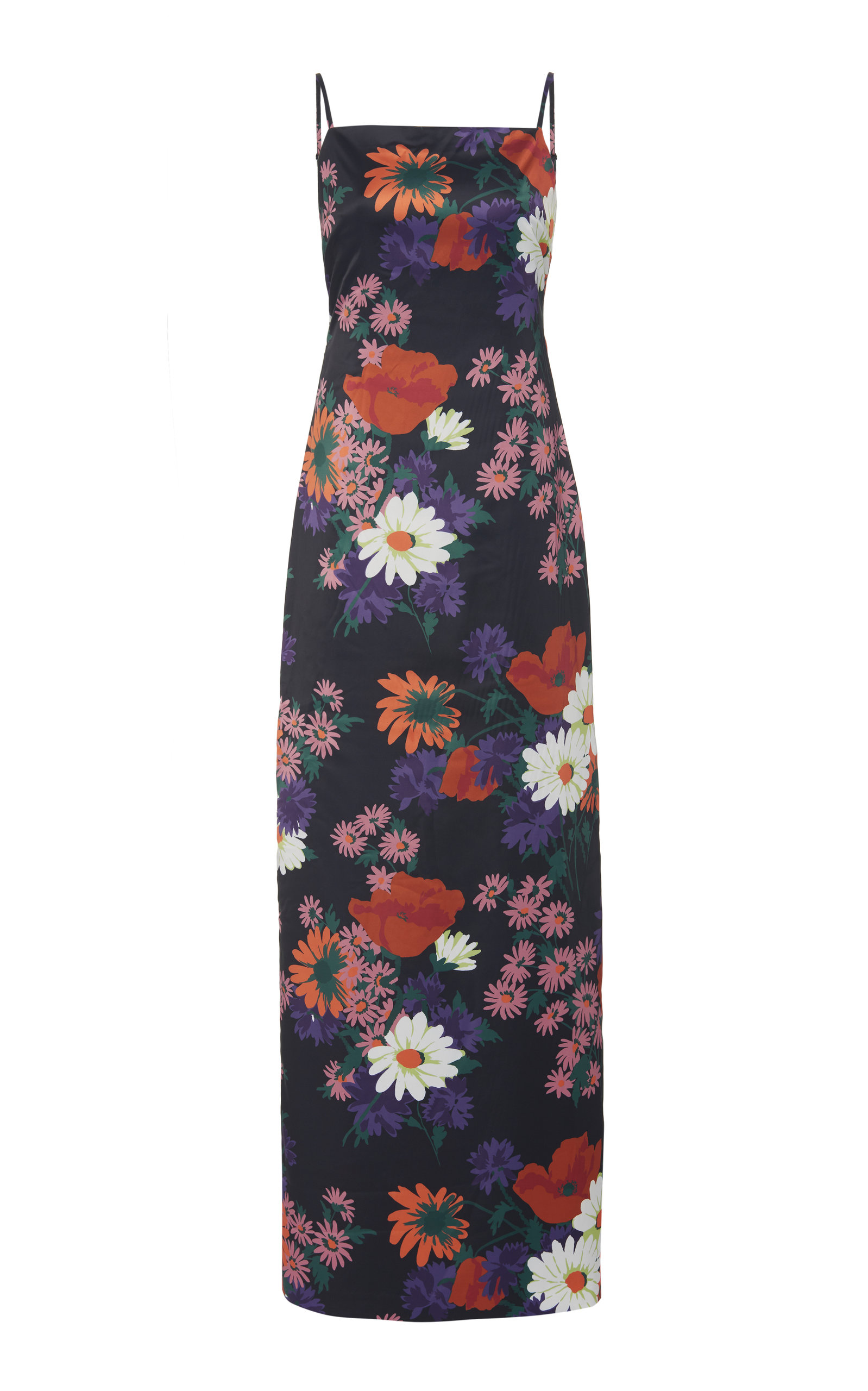 Heidi Floral Jacquard Maxi Dress by Staud
