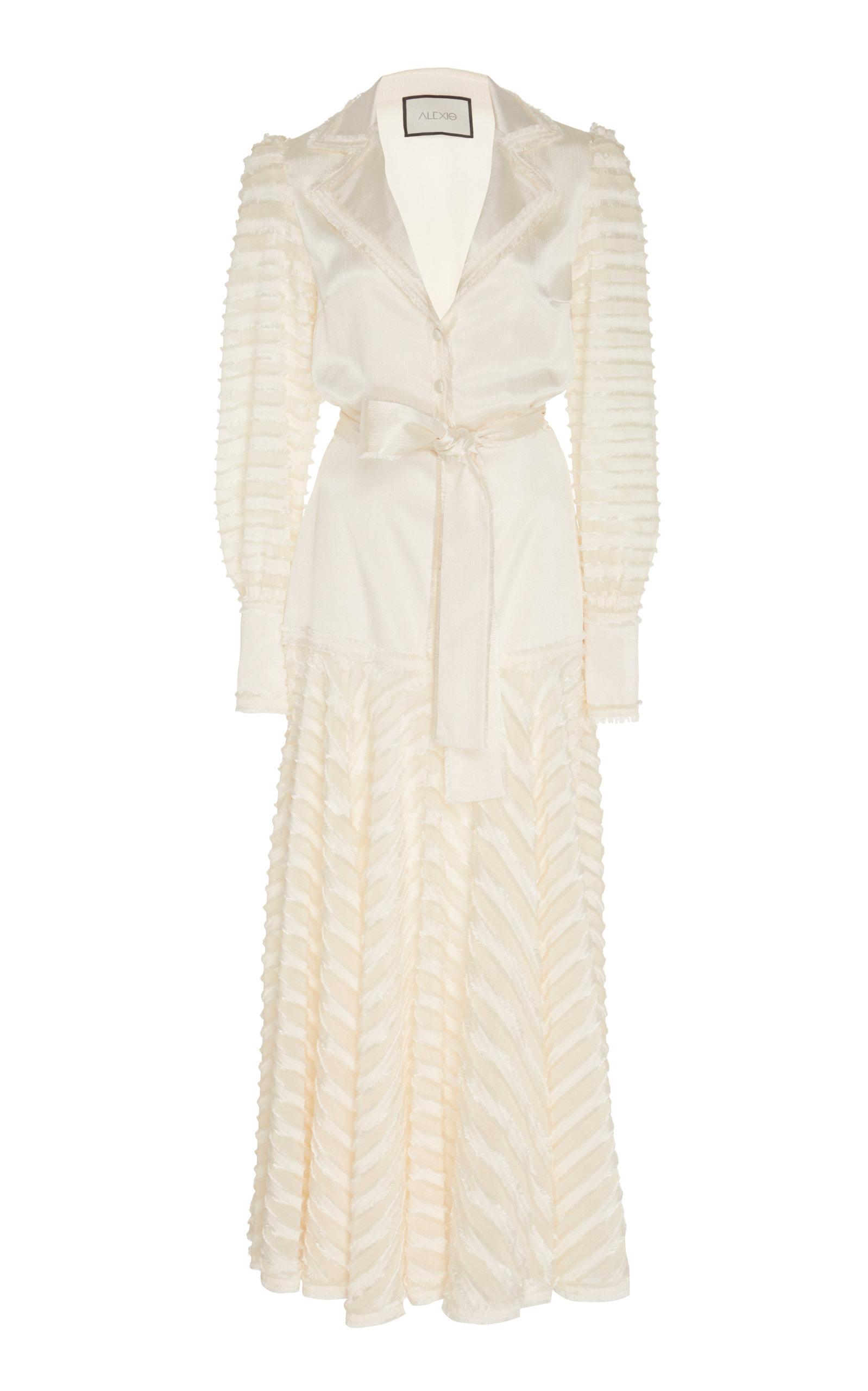 943cab945132c Juliska Sheer-Paneled Maxi Blazer Dress by Alexis | Moda Operandi
