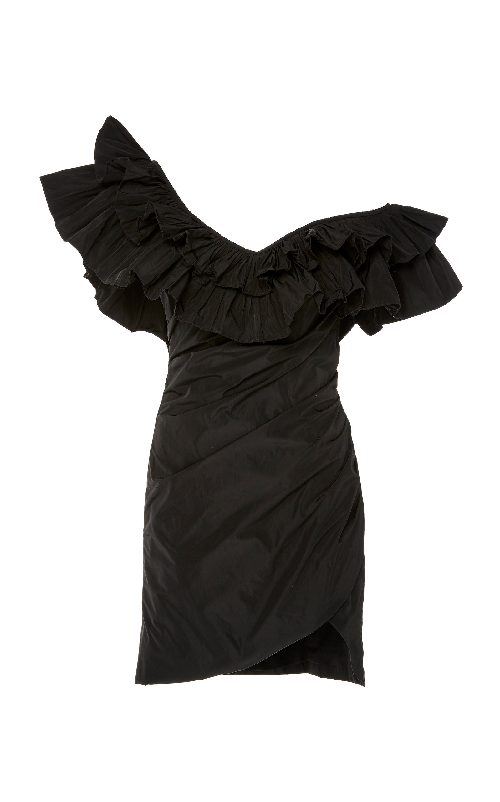 3f11a9577f30 Benicia Asymmetric Dramatic Ruffle Mini Dress by Alexis | Moda Operandi