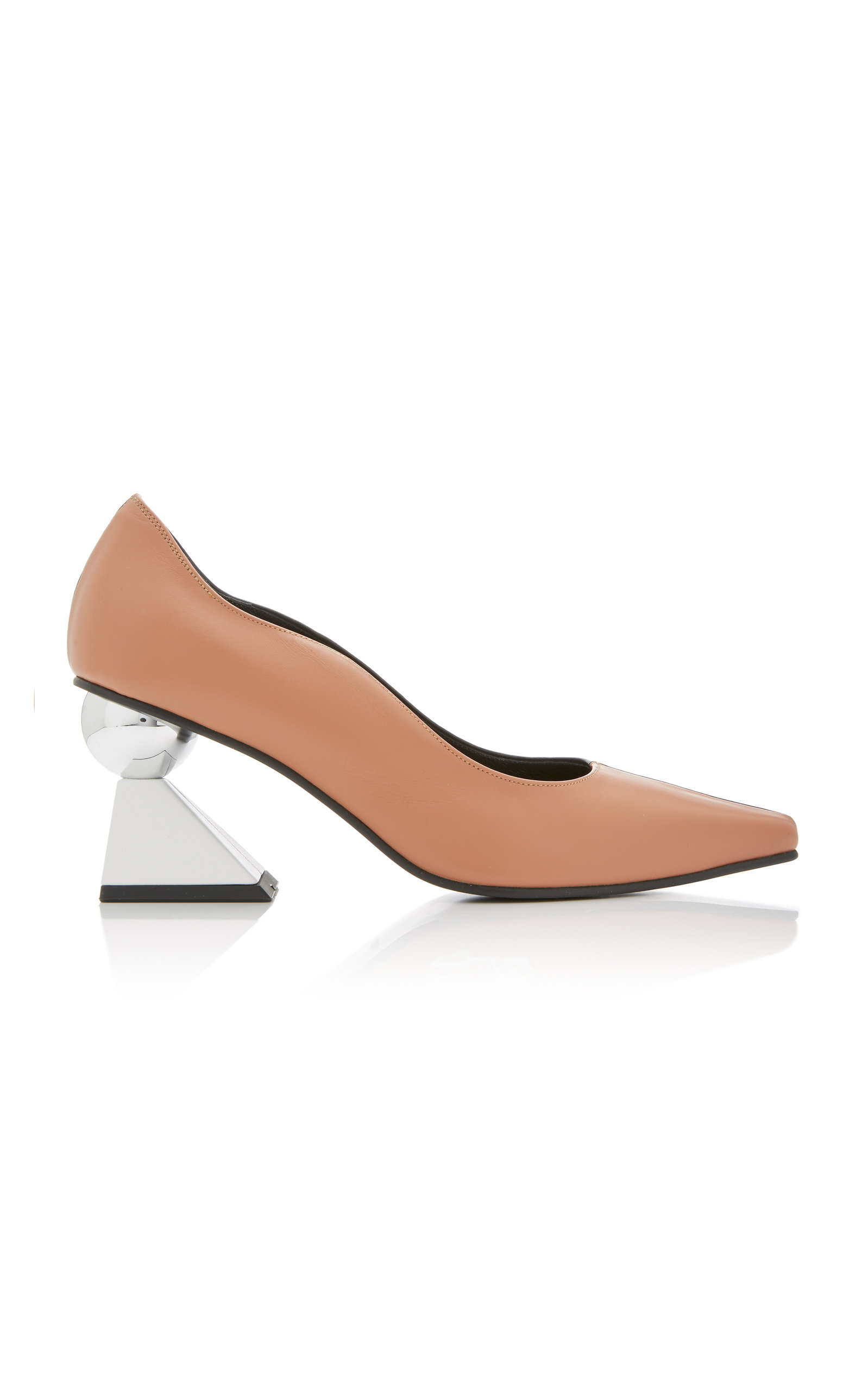 Exclusive Paola Two Tone Leather Pumps by Yuul Yie
