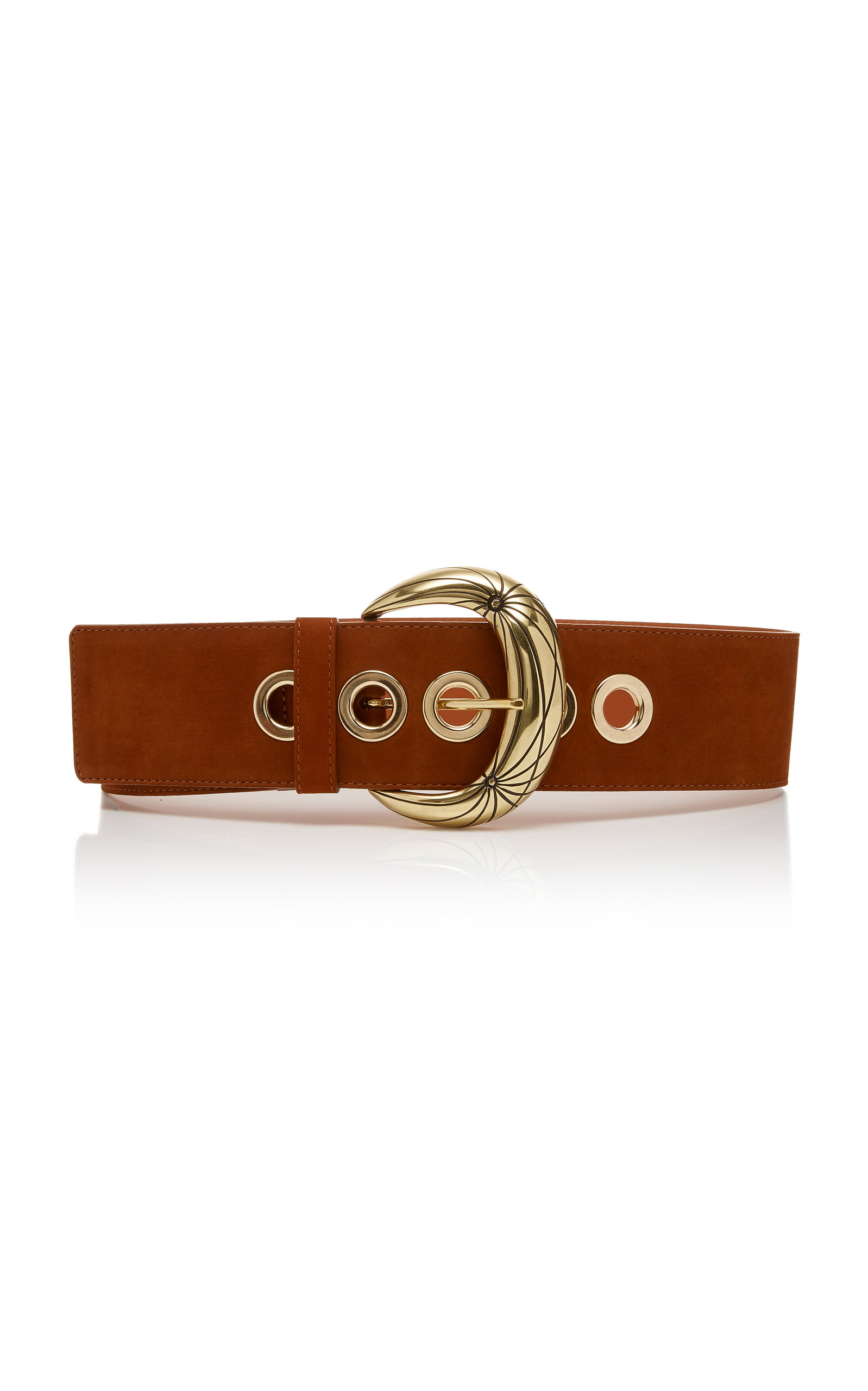 Maison Boinet Nubuck Leather Belt