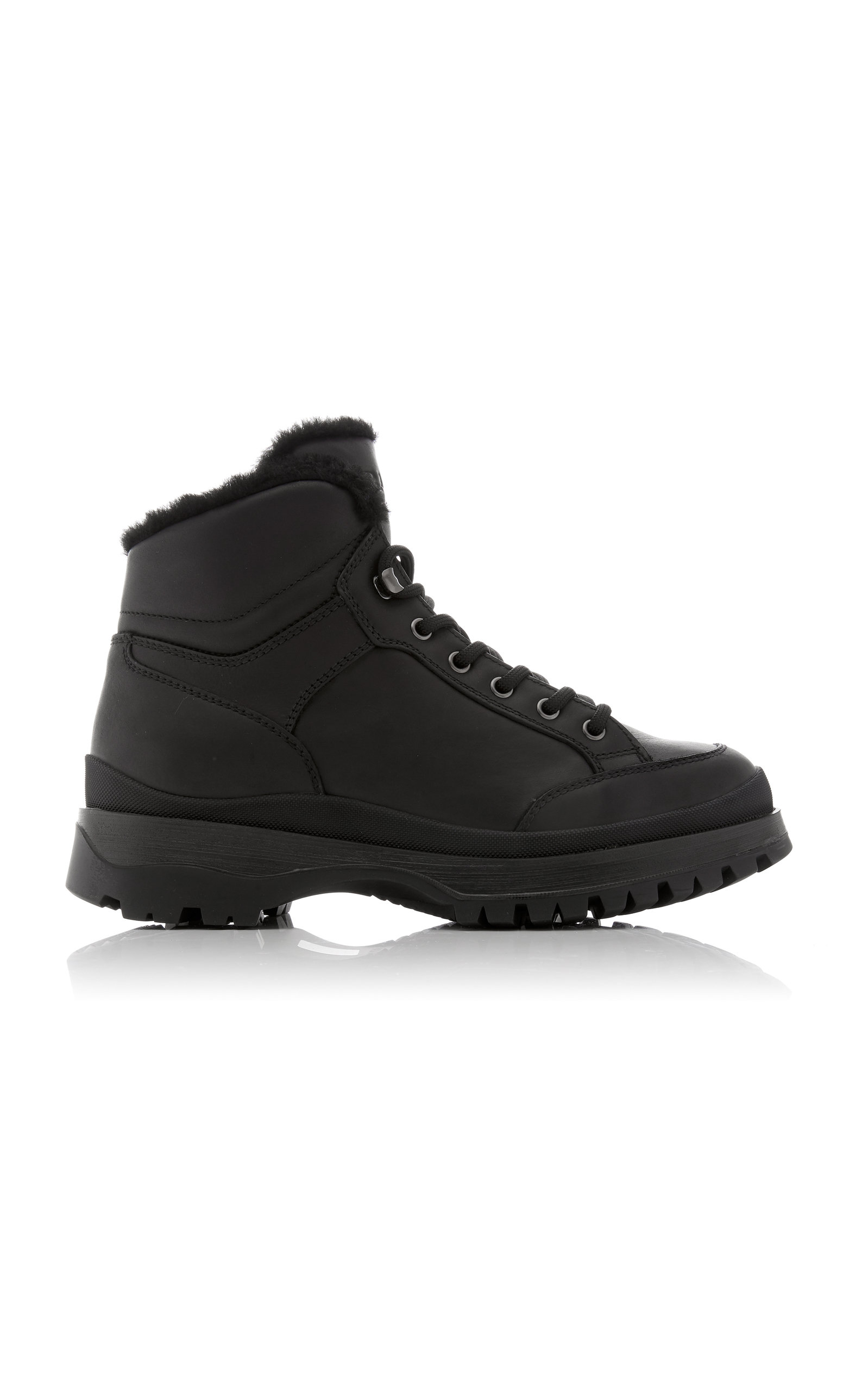 Prada Boots Montagna Ankle Boots