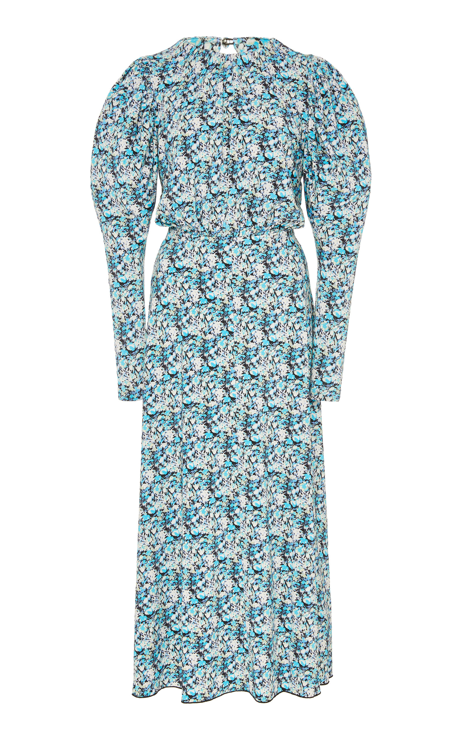 Number 57 Re Runner Crepe Midi Dress by Rotate