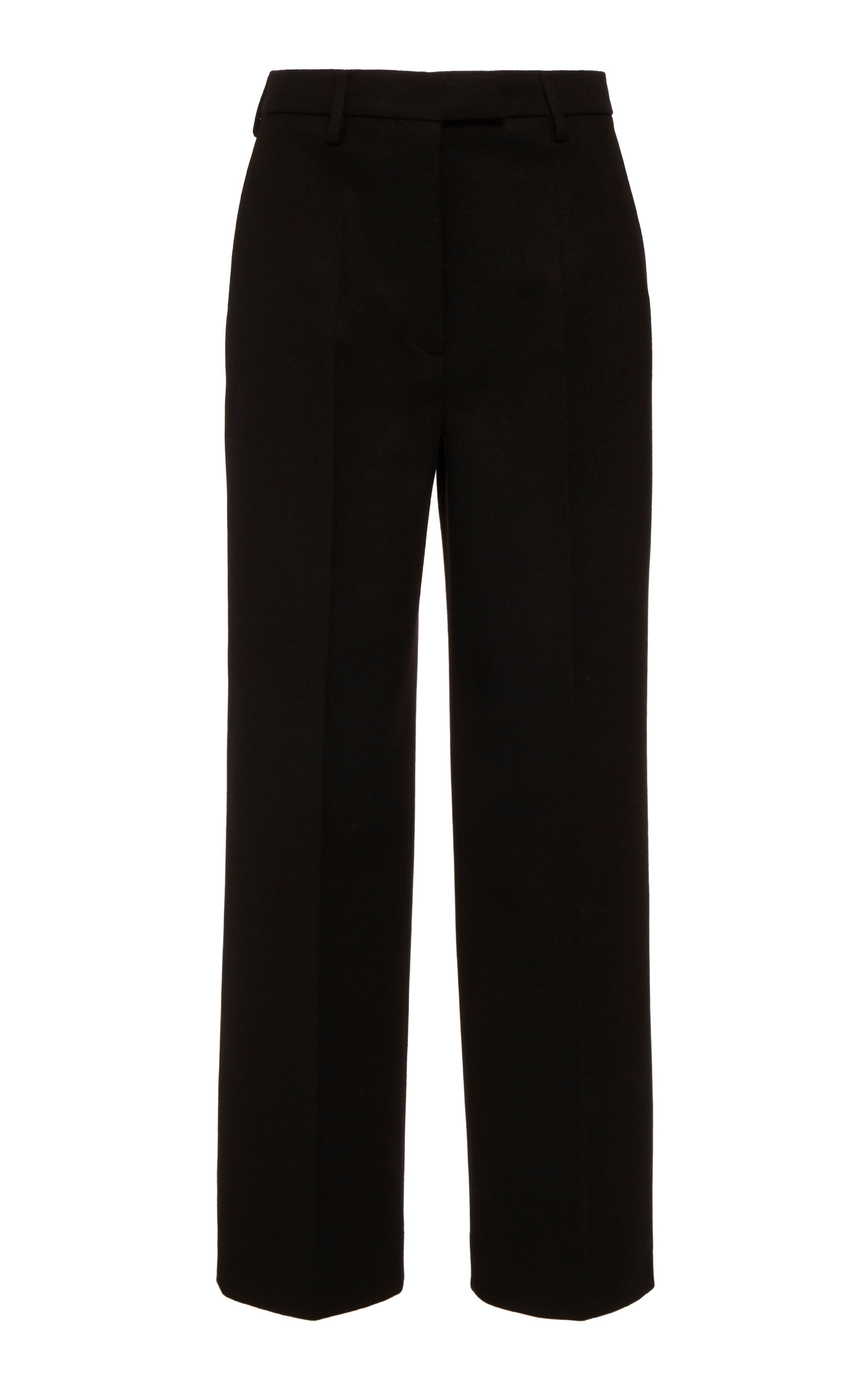 Prada Pants Straight-Leg Wool Trousers