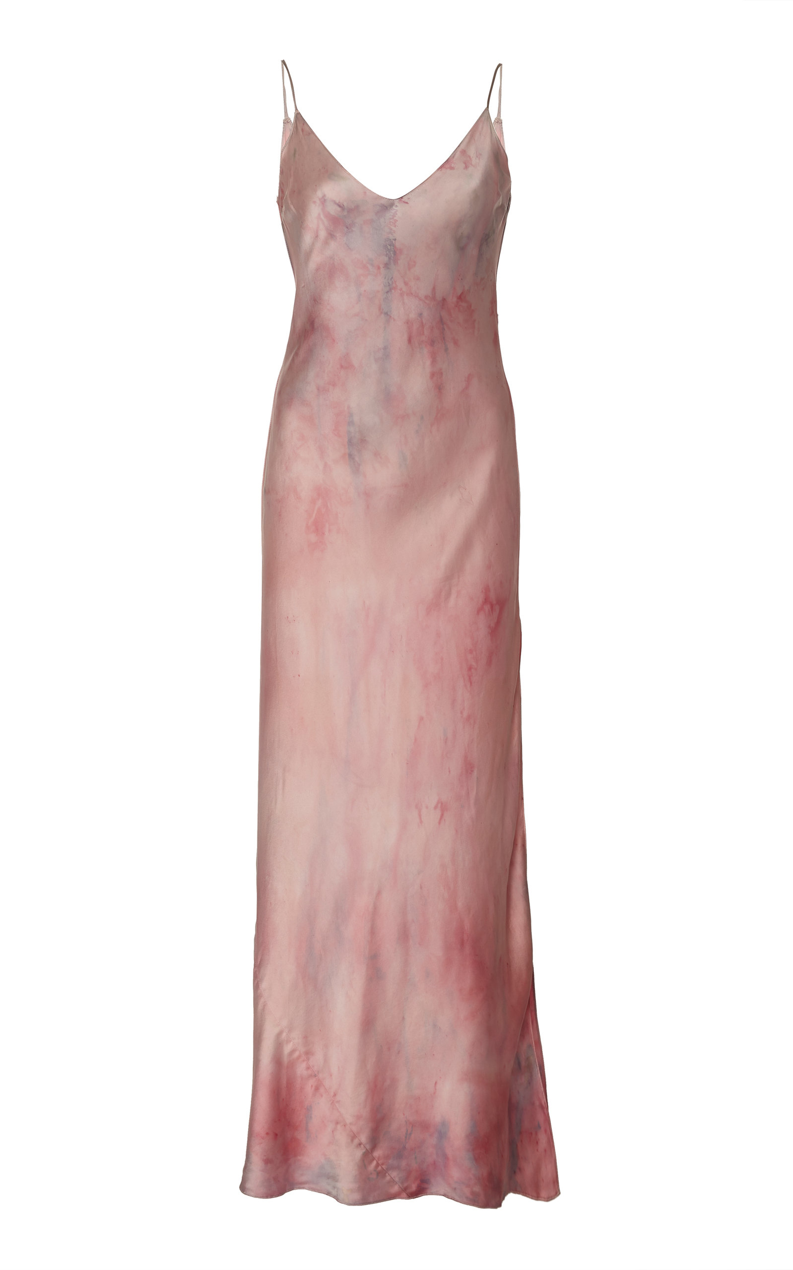 8e3899a1853b Mossy Silk Natural Dyed Slip Dress by Dannijo   Moda Operandi