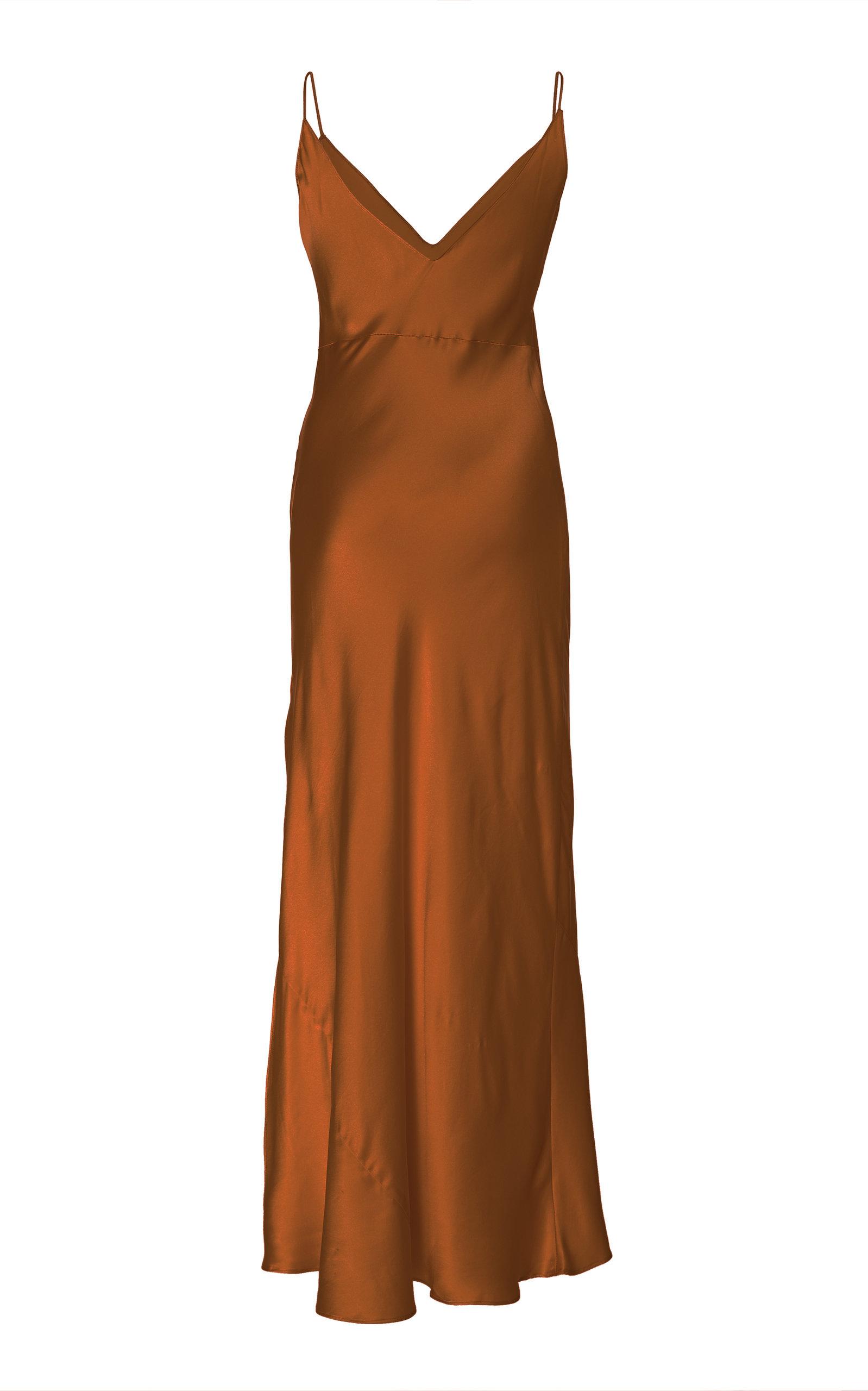 d02a94cb4b68 Mossy Silk Slip Dress by Dannijo   Moda Operandi