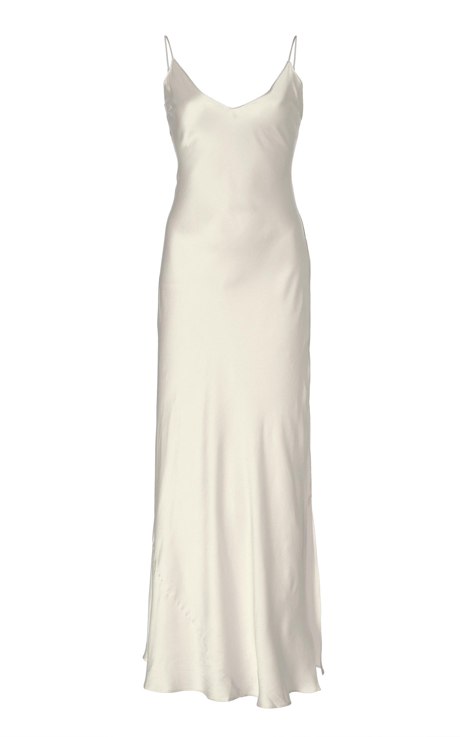 d88c82ba6261 Mossy Silk Sleeveless Slip Dress by Dannijo   Moda Operandi