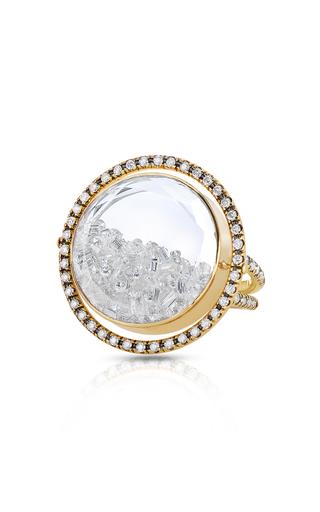 MORITZ GLIK   Moritz Glik Movable Diamond Kaleidoscope Shaker Ring   Goxip