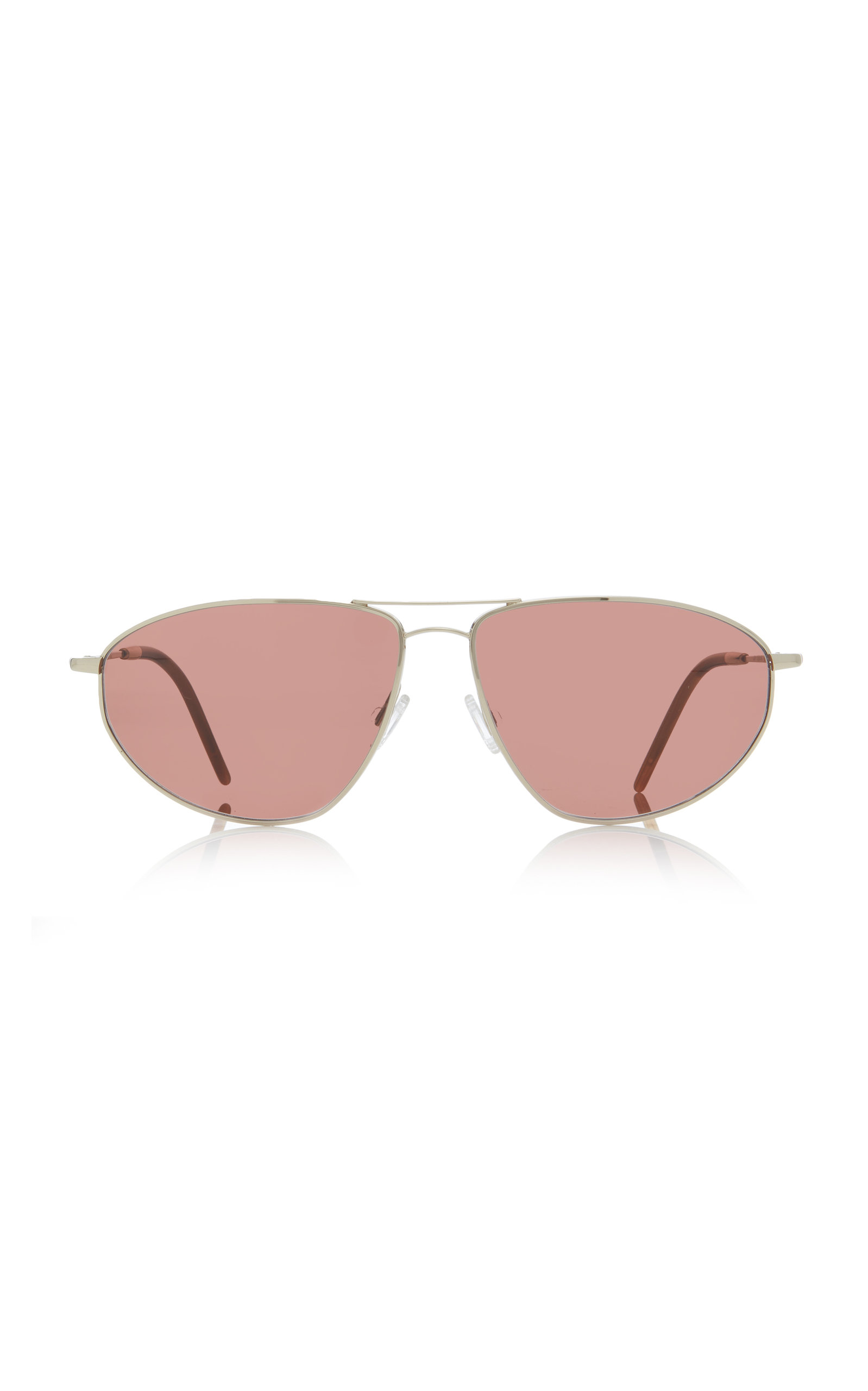 1e09993186d0 Kallen Aviator-Style Gold-Tone Sunglasses by Oliver Peoples | Moda ...