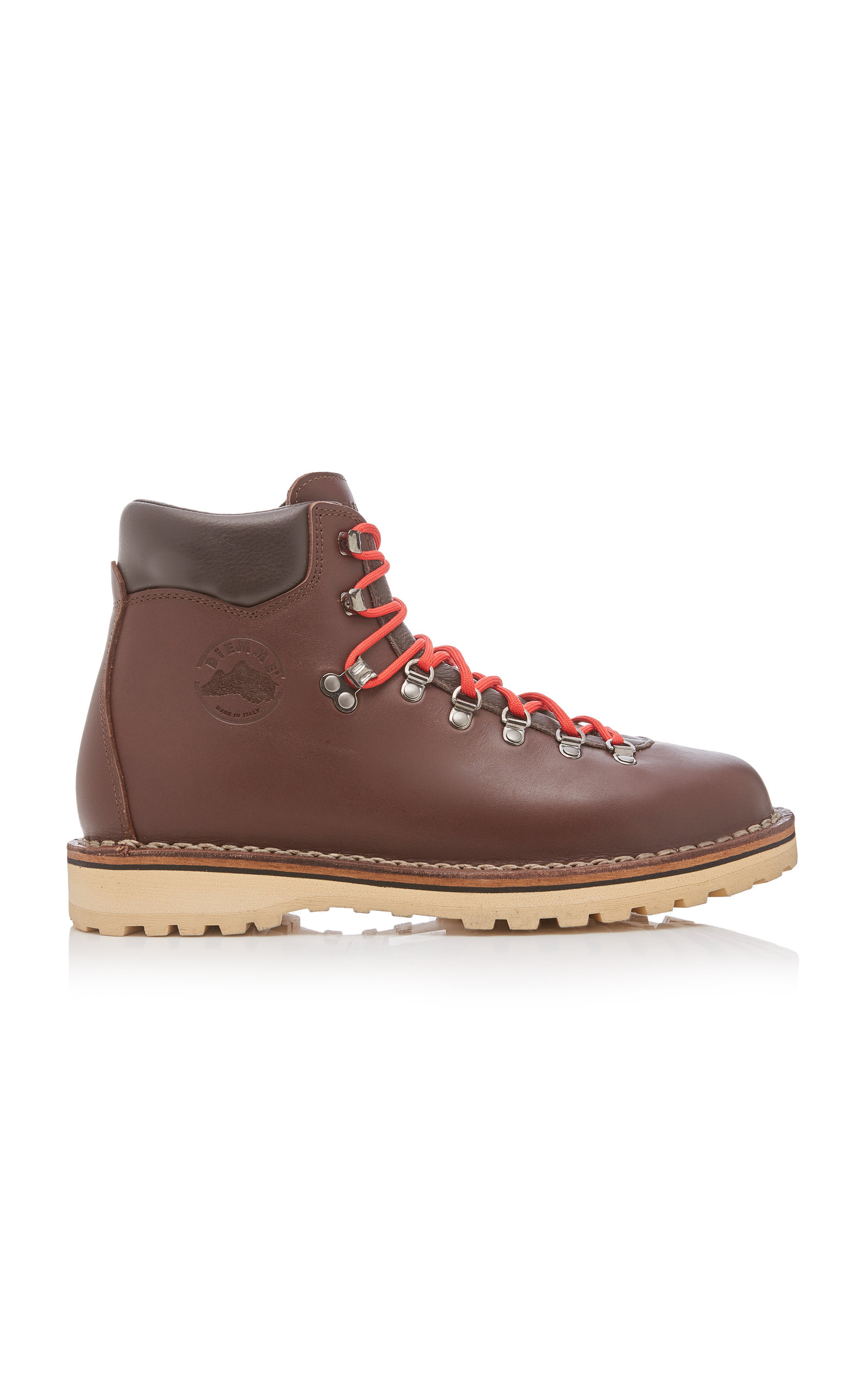 Diemme Boots ROCCIA BROWN LEATHER HIKING BOOTS