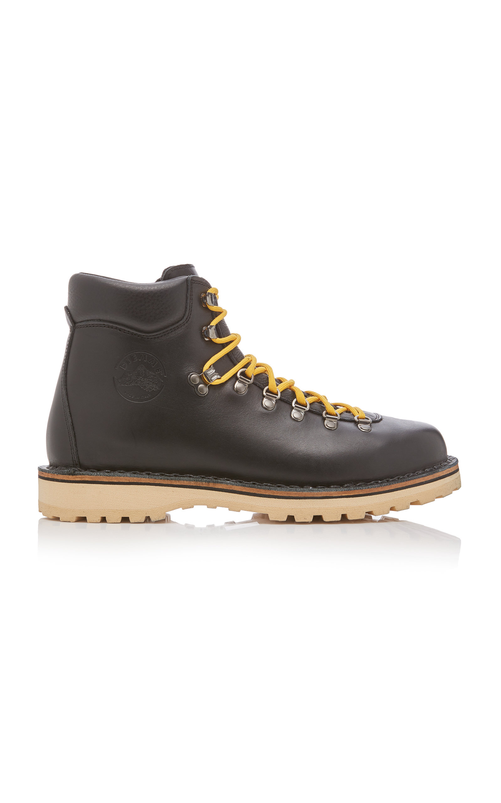 Diemme Boots ROCCIA BLACK LEATHER HIKING BOOTS