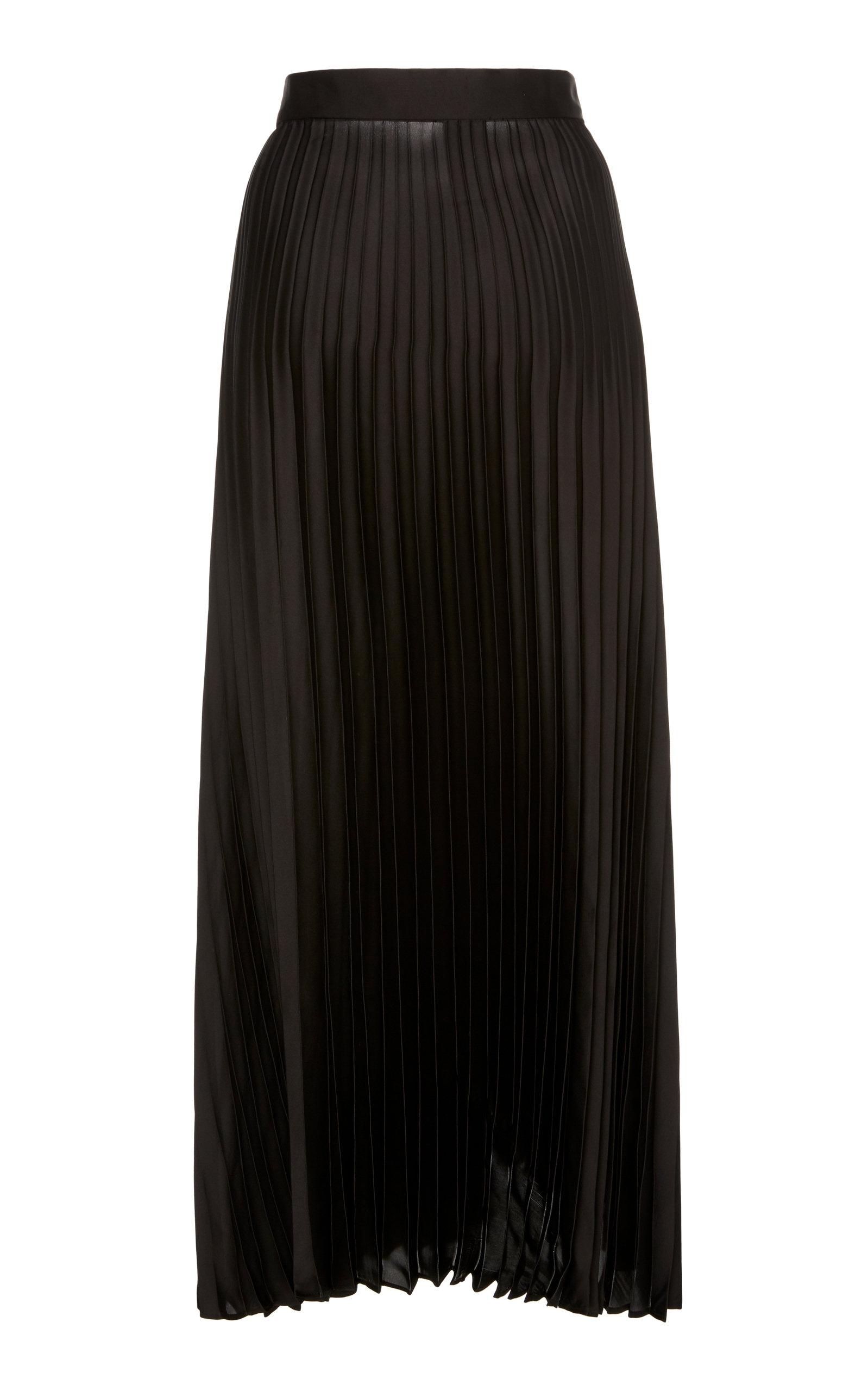 1c50f28e57 Brunello CucinelliBelted Pleated Satin Maxi Skirt. CLOSE. Loading. Loading