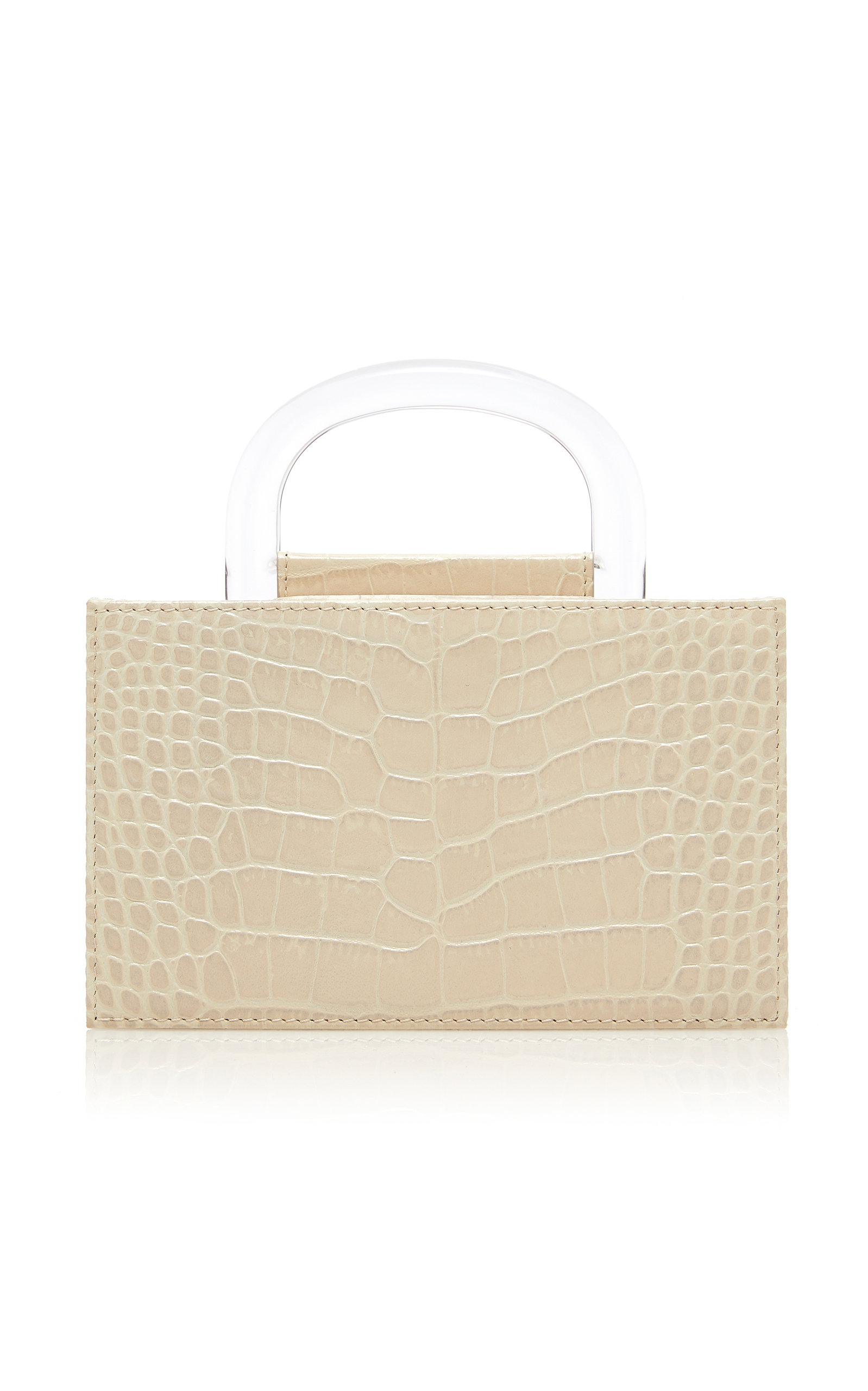 L'AFSHAR | L'Afshar Gio Embossed Leather Bag | Goxip