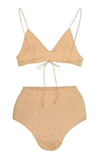 eb418ba276d4 OsereeLumière Stretch-Lurex Bikini