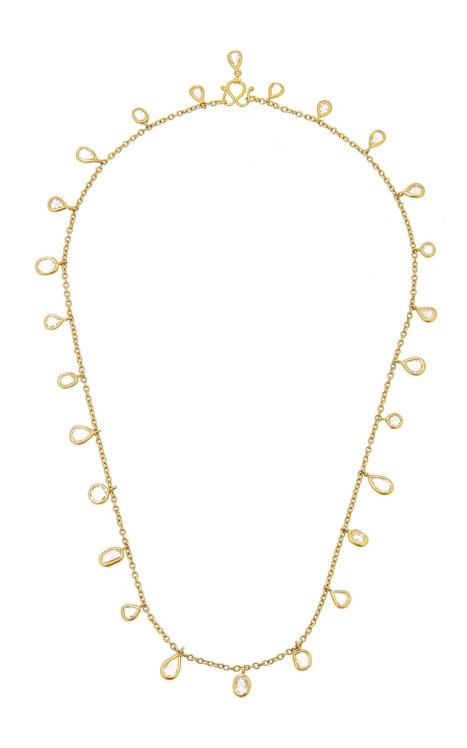 MUNNU THE GEM PALACE | Munnu The Gem Palace Diamond Drop Necklace | Goxip