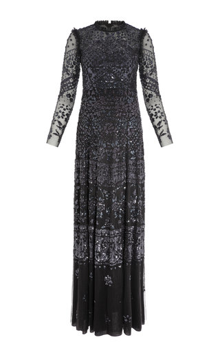 Aurora Sequin Maxi Dress By Needle Amp Thread Moda Operandi