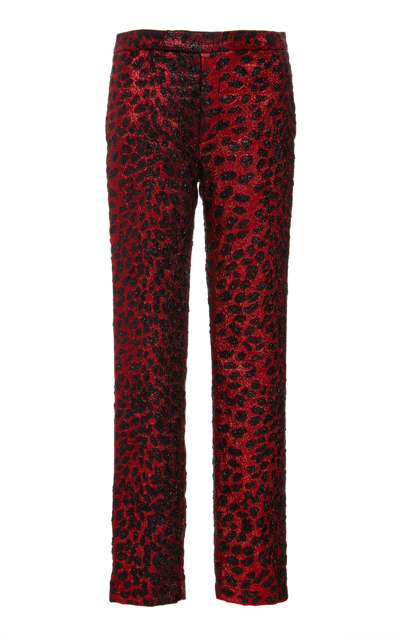 LIBERTINE | Libertine Night Leopard Narrow Pants | Goxip