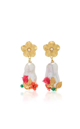 OF RARE ORIGIN | Of Rare Origin Power Pearl Drop Earrings | Goxip