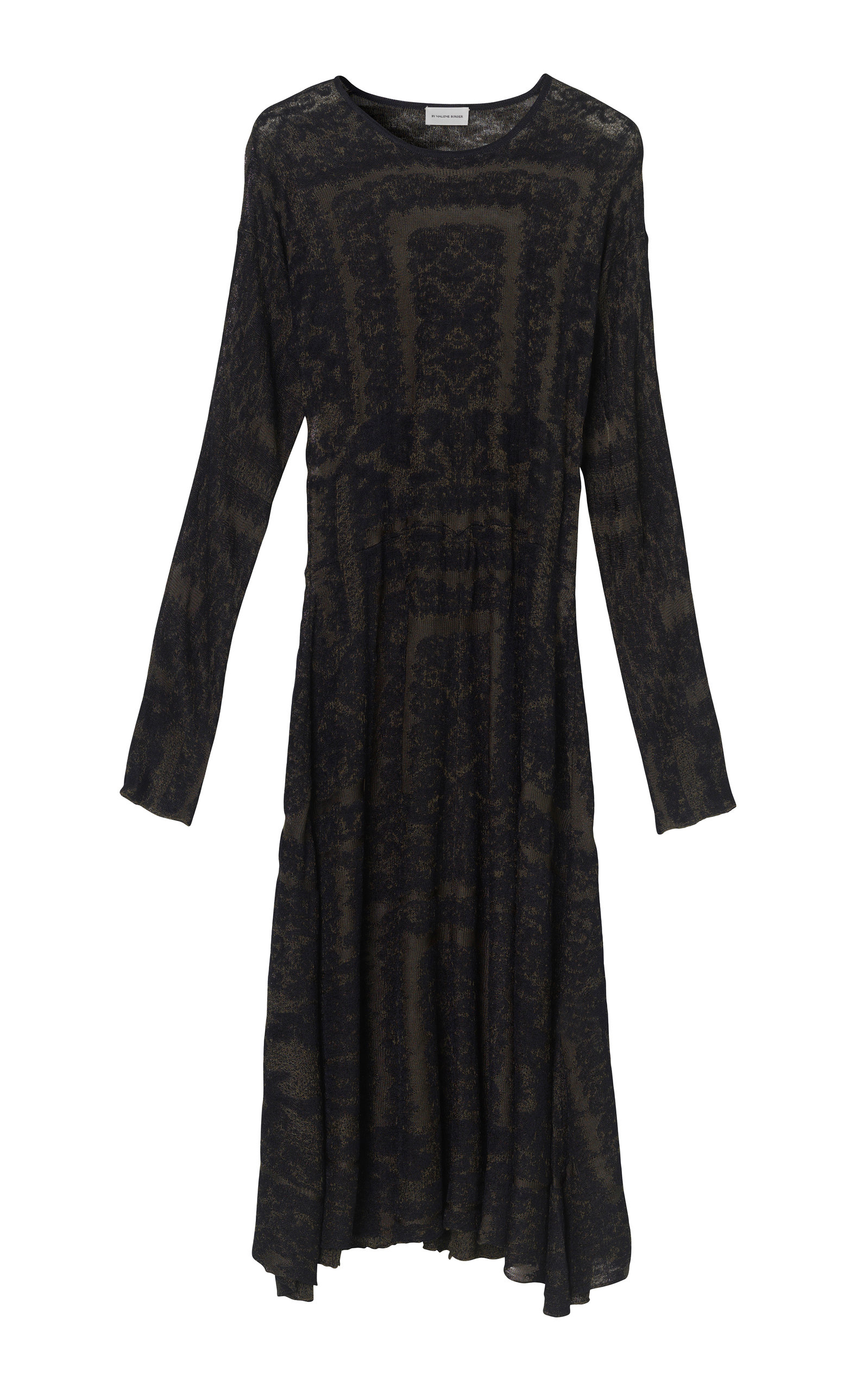 b7bb42887ecd Onix Viscose Jacquard Dress by By Malene Birger