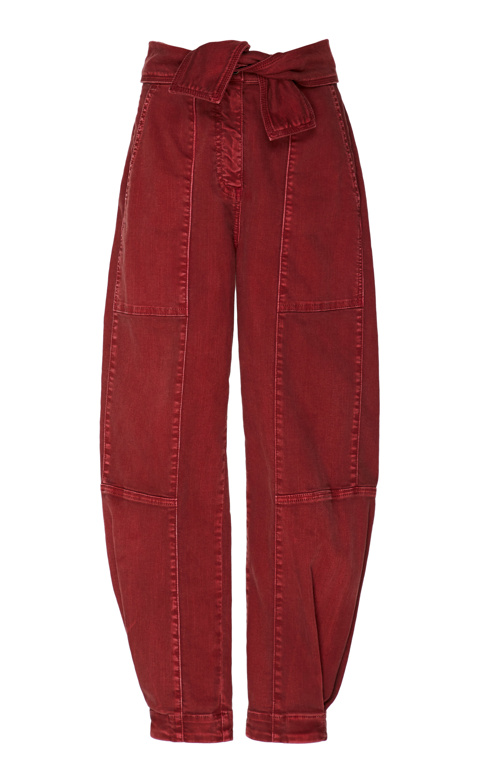 Storm High-Waisted Cropped Wide-Leg Jeans