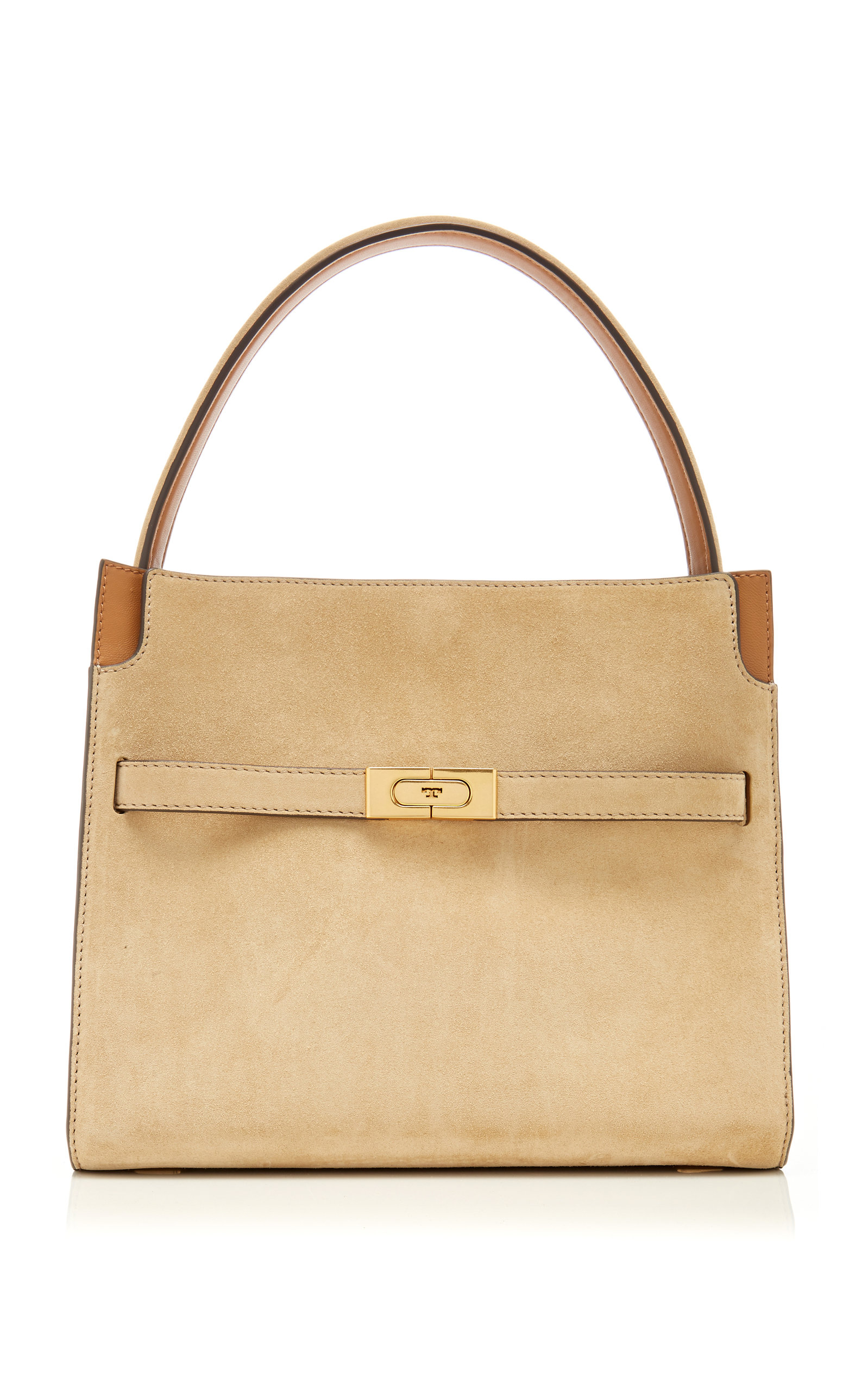 27badf80cc68 Lee Radziwill Small Leather Double Bag by Tory Burch | Moda Operandi