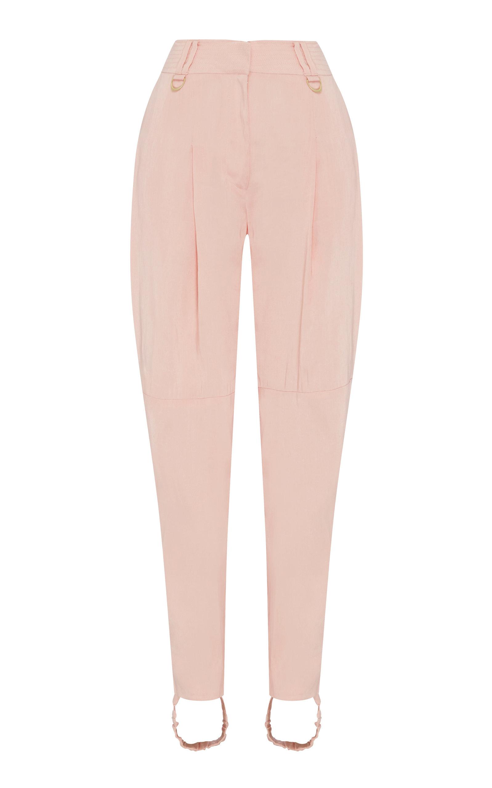 8d43ca3f7c9bc3 Linen And Silk-Blend Stirrup Pants by Aje | Moda Operandi