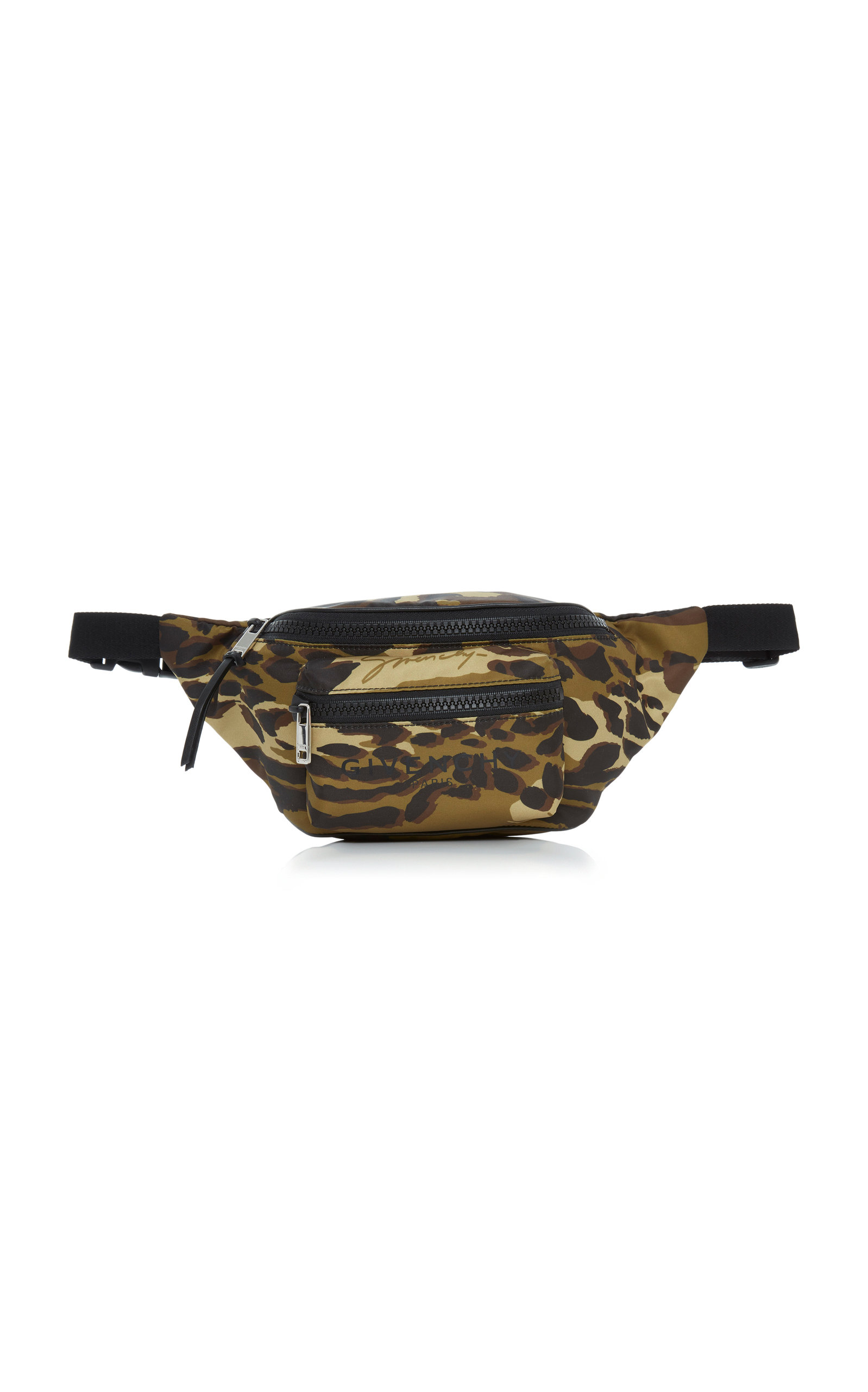 Givenchy Belt Light 3 Animal-Print Shell Belt Bag