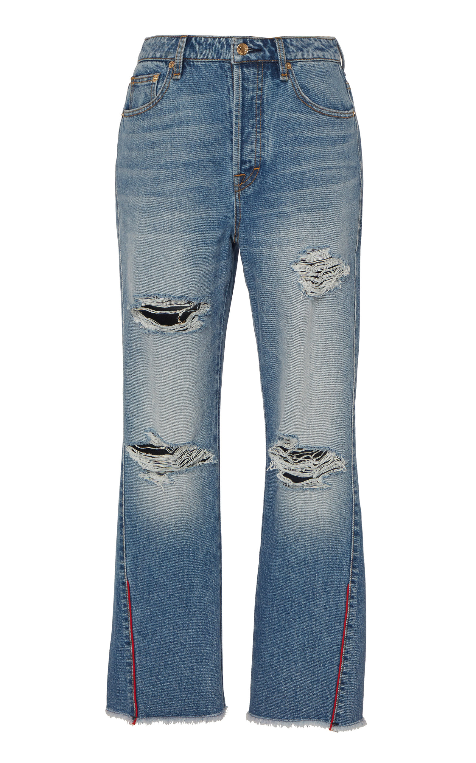 P.e Nation Jeans The 1995 High-Rise Cropped Jean