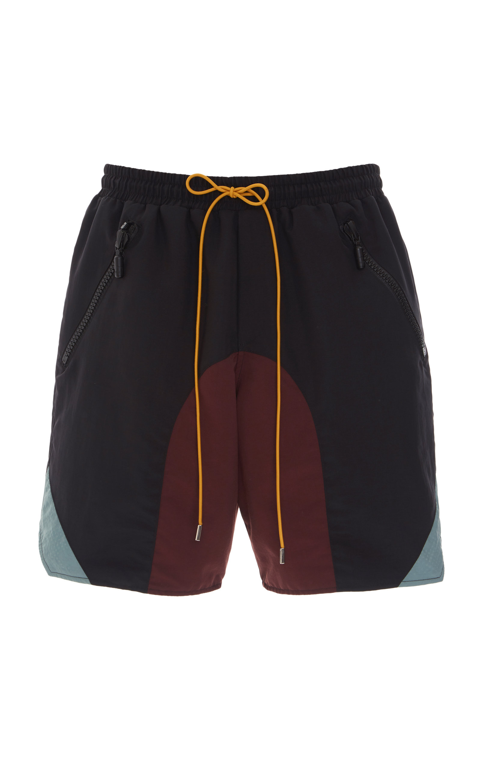 Rhude Shorts Colorblocked Shell Shorts