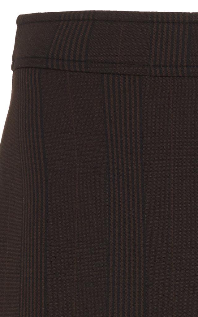 df1b89426 GanniPlaid Stretch-Crepe Mini Skirt. CLOSE. Loading. Loading. Loading