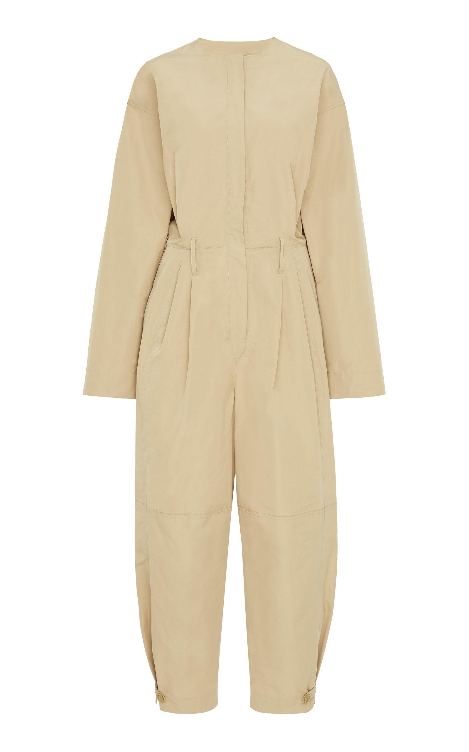 Givenchy Suits Cotton-Canvas Jumpsuit