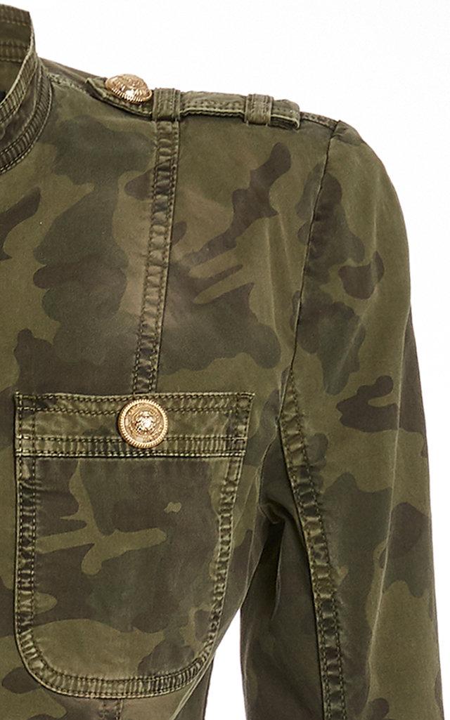 e2d9e03e BalmainCamo Chainlink Military Jacket. CLOSE. Loading. Loading