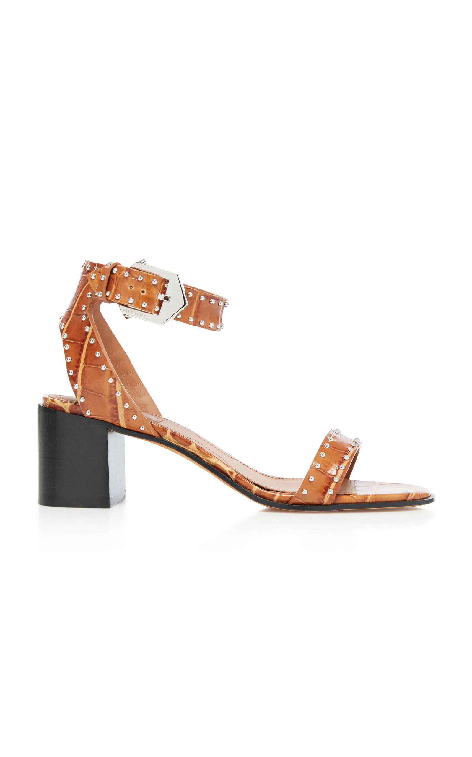 Givenchy Sandals Studded Leather Sandals