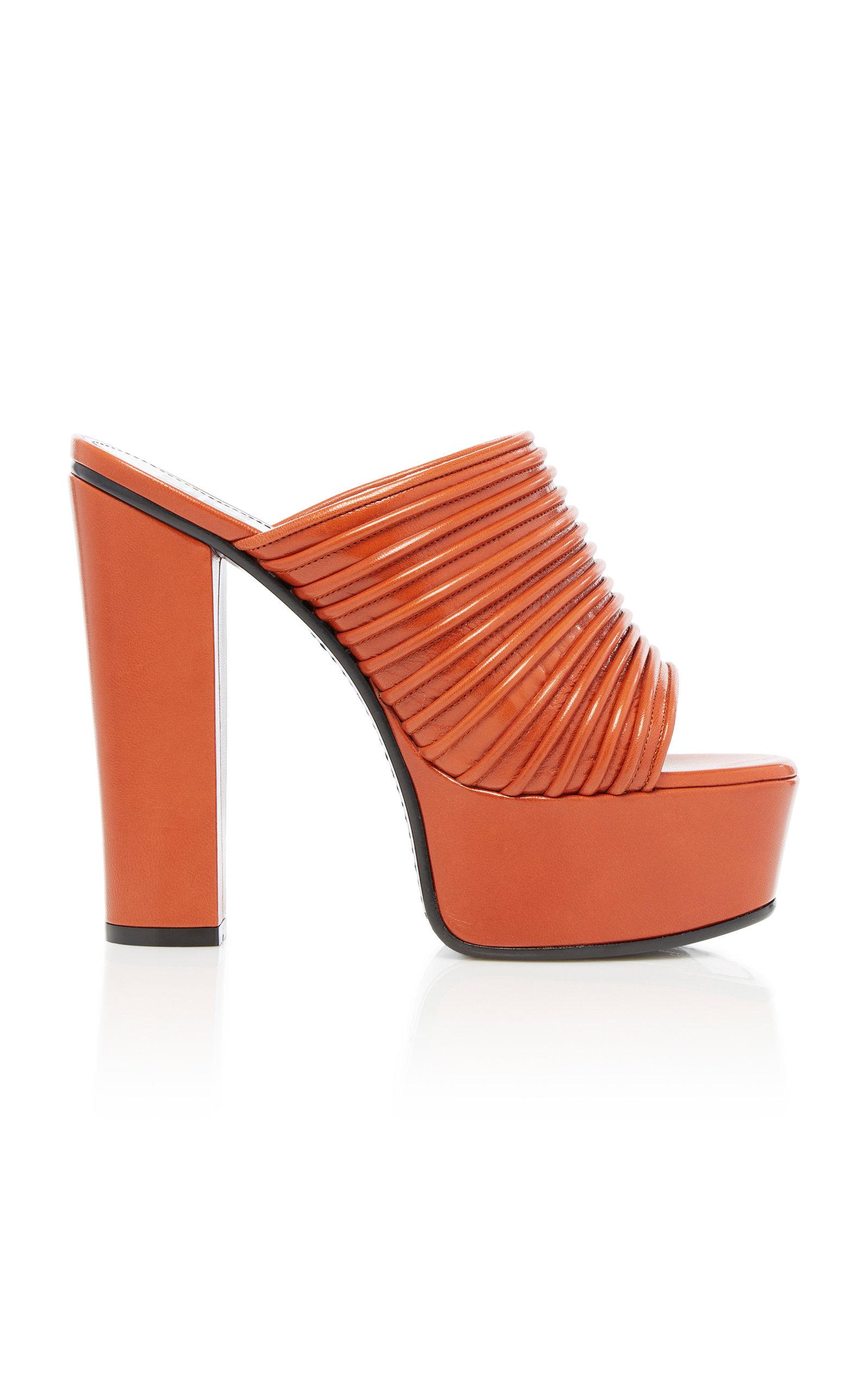 Givenchy Platforms Leather Platform Sandals