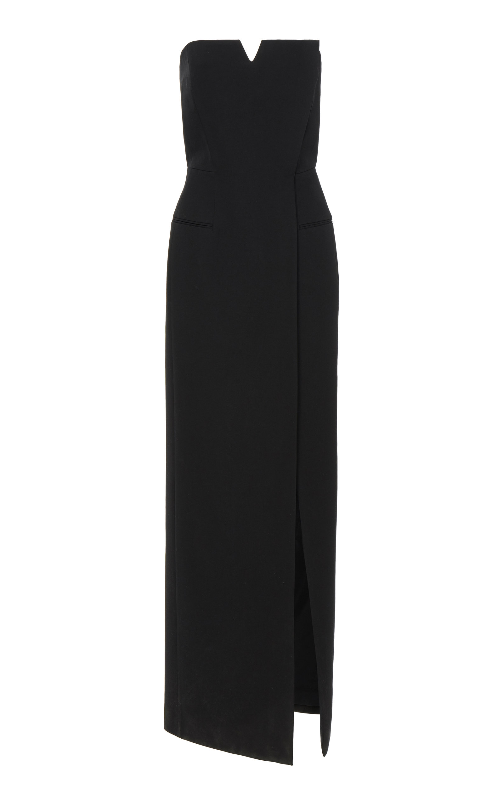 Givenchy Dress Strapless Wrap-Effect Cady Gown
