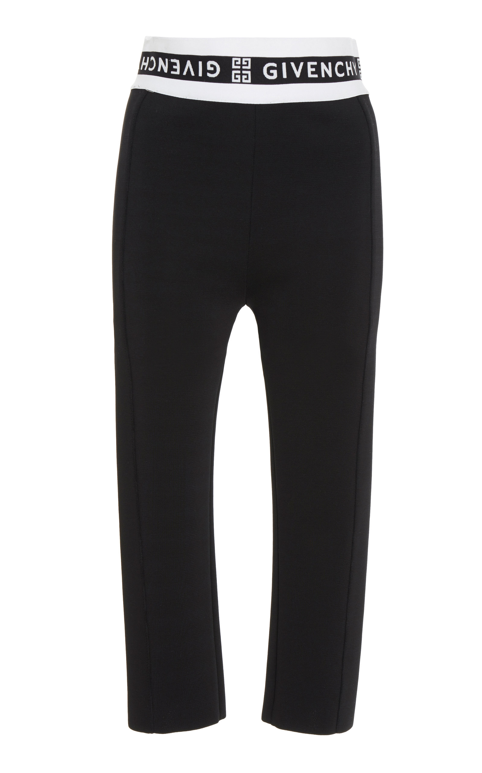 Givenchy Pants Jacquard-Trimmed Tech-Jersey Skinny Pants