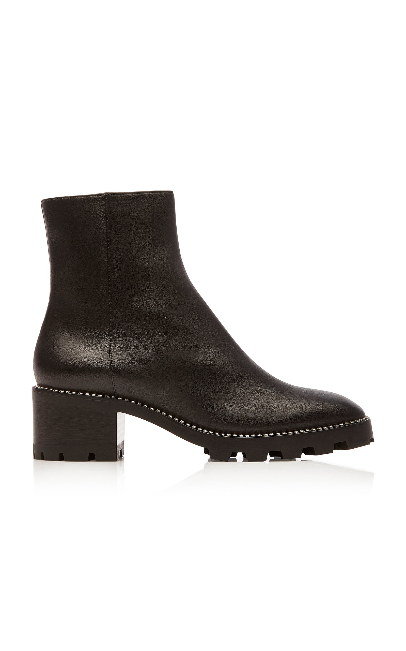 Jimmy Choo Boots Mava Embellished Leather Ankle Boots