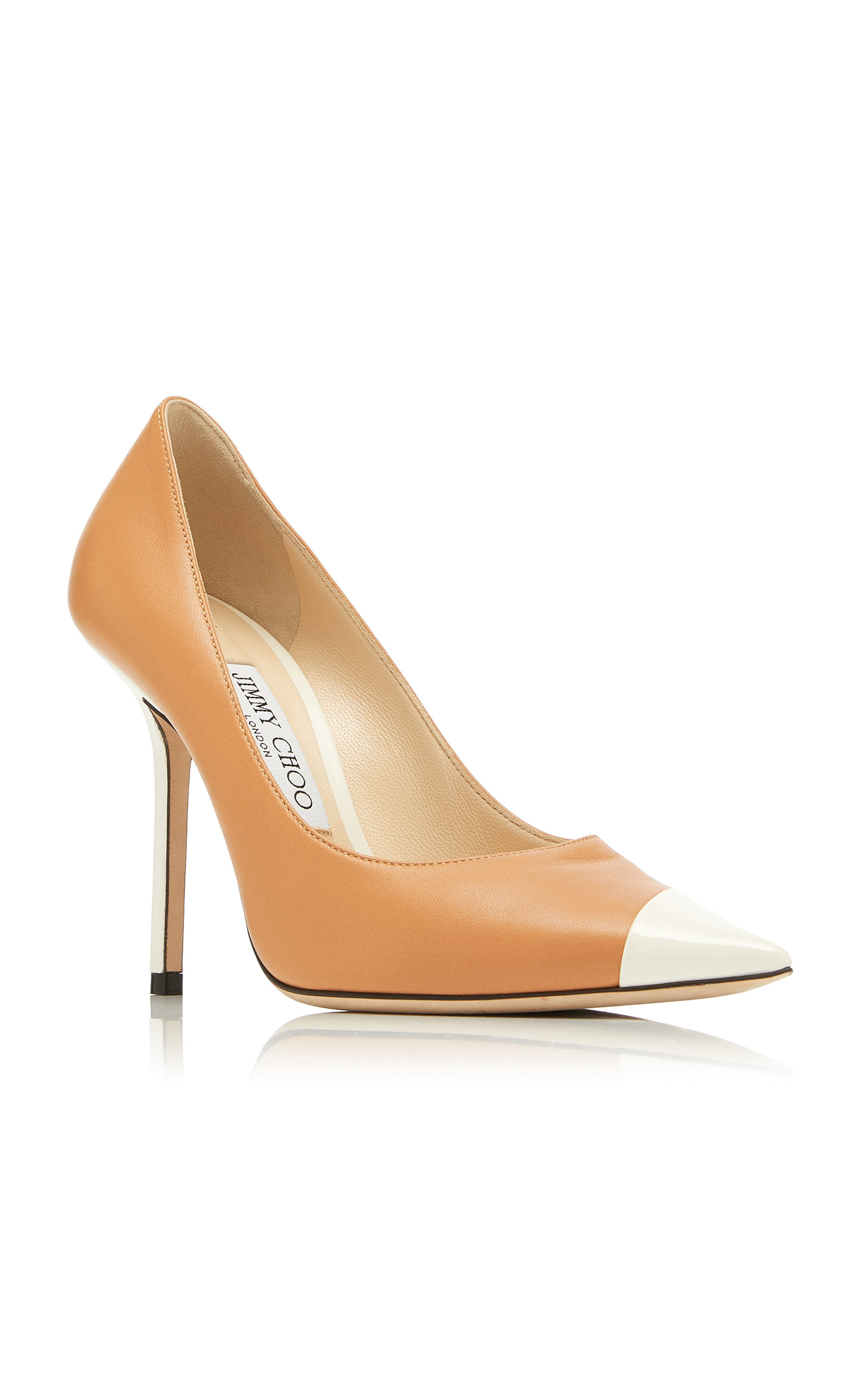 Jimmy Choo Pumps Love Two-Tone Leather Pumps
