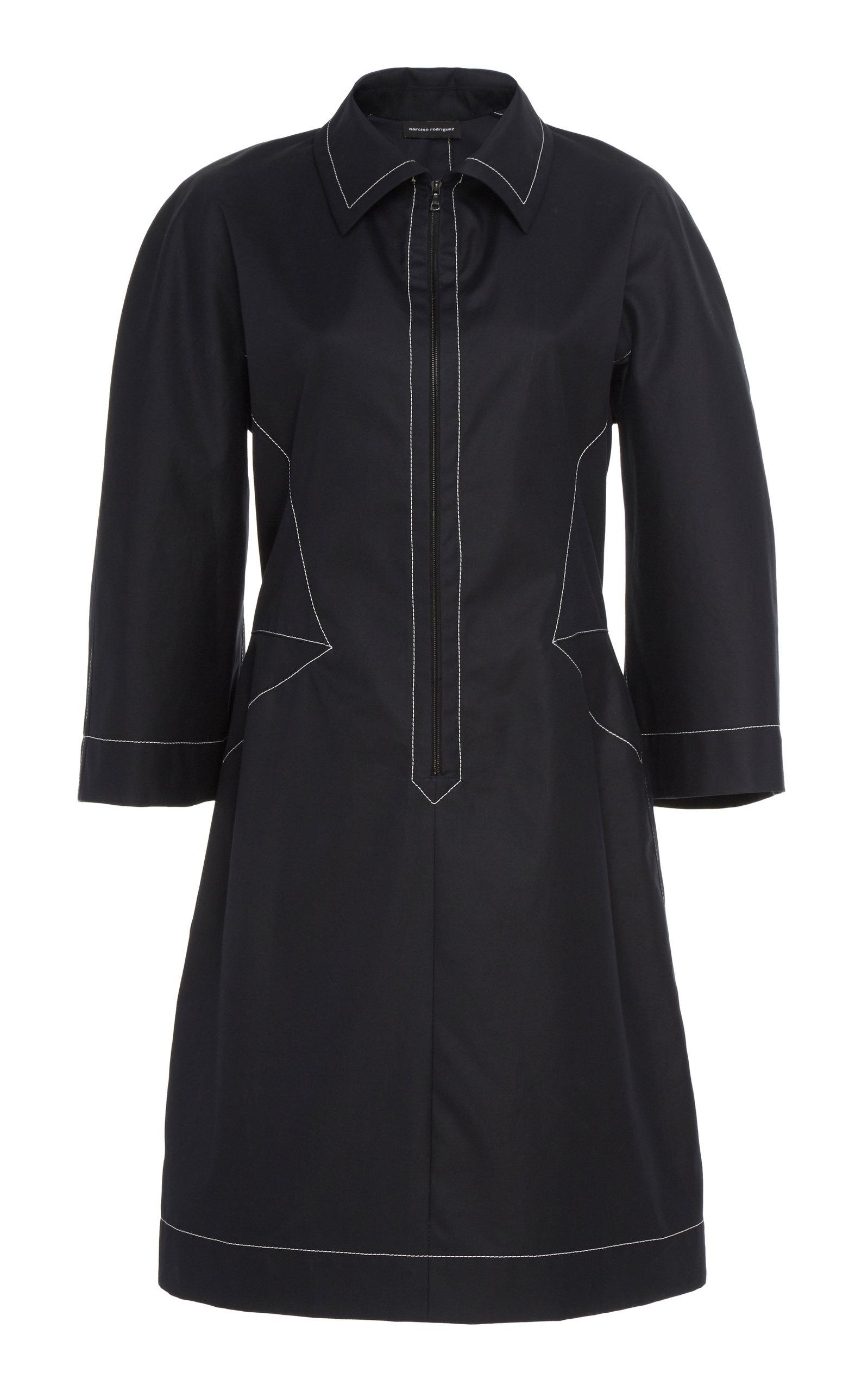 147fbe31016 Zip-Front Cotton Tunic Dress by Narciso Rodriguez | Moda Operandi