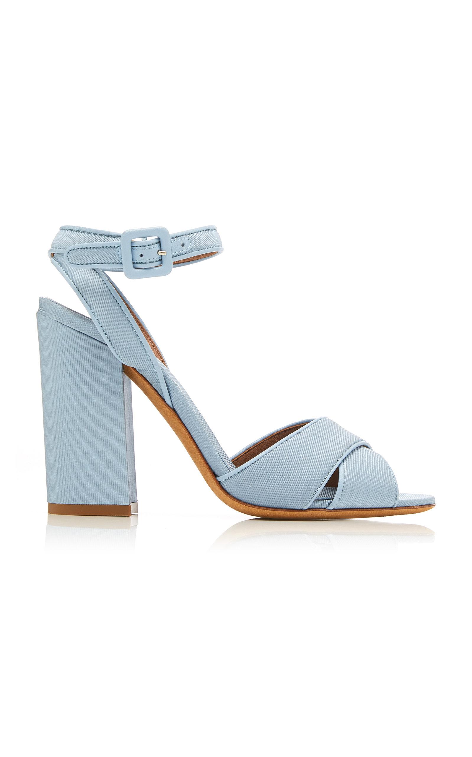 Tabitha Simmons Sandals Connie Satin-Twill Sandals