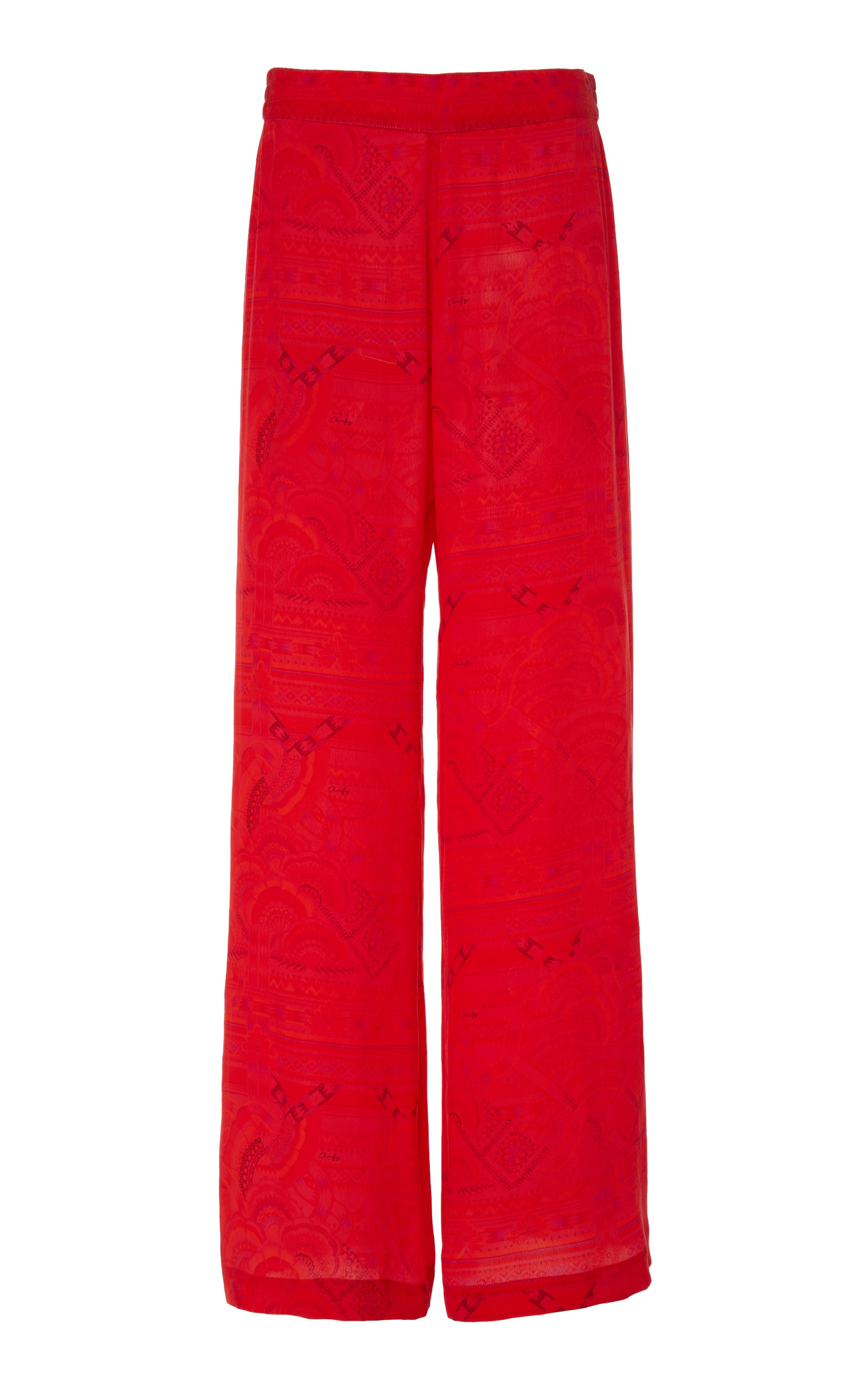 Chufy Pants HUANCAYO BROADCLOTH WIDE-LEG PANTS
