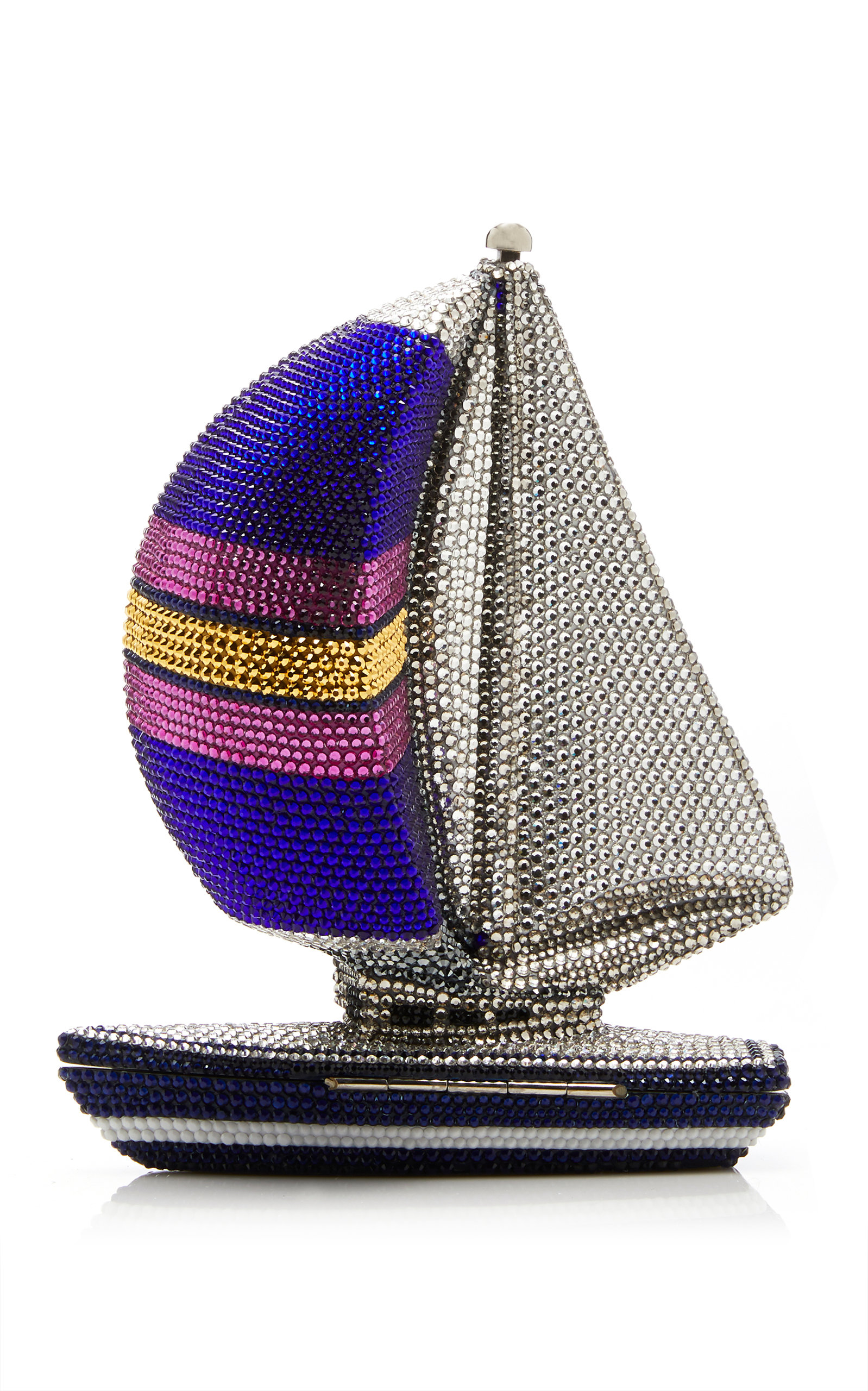 cee6e7f64b Nantucket Sailboat Crystal Clutch by Judith Leiber Couture | Moda ...