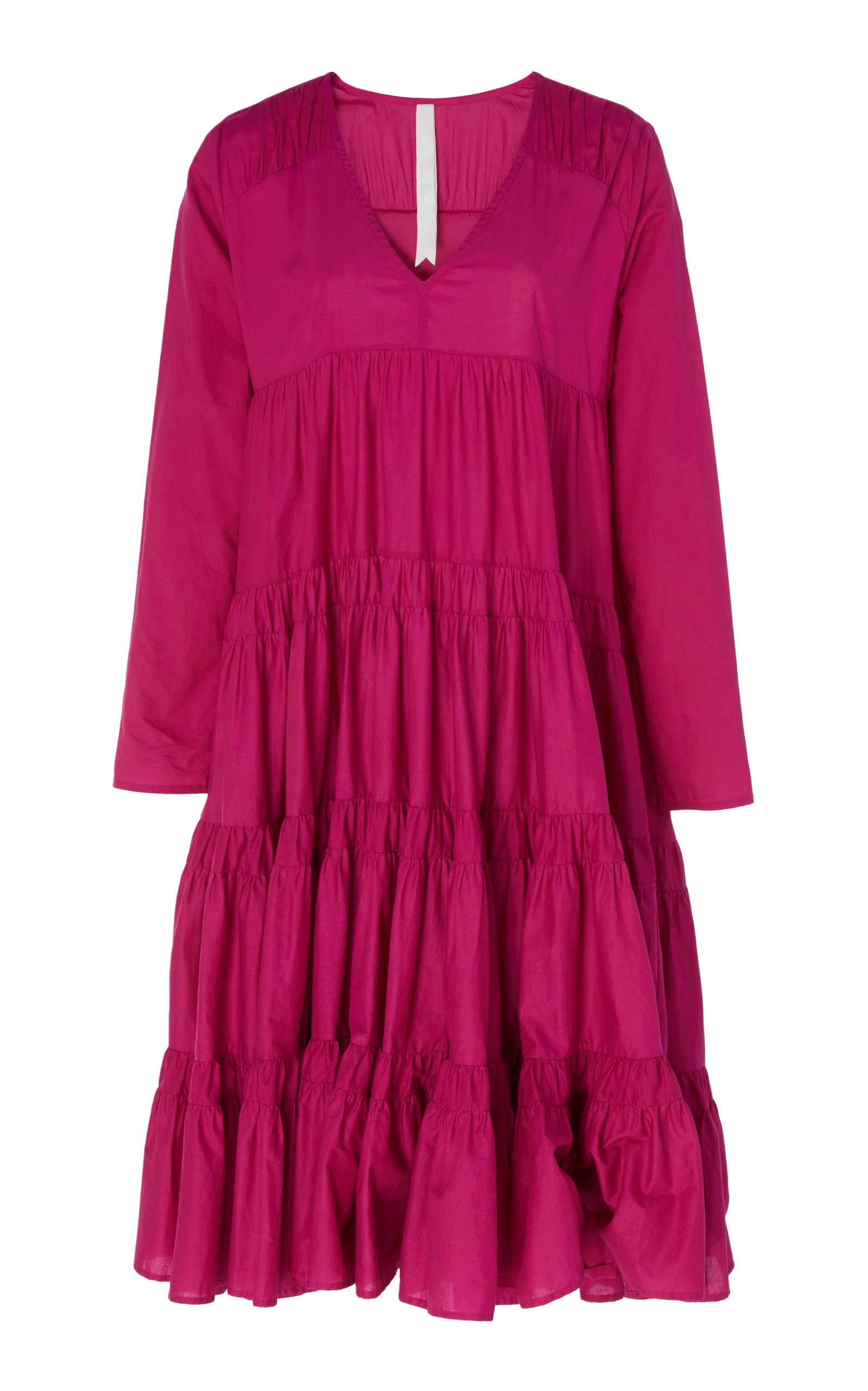 12513724fe4c81 Rodas Tiered Ruche Dress by Merlette   Moda Operandi